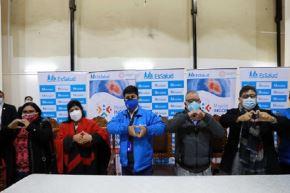 Un equipo de especialistas del Incor llegará a Cusco para iniciar su labor con dos intervenciones de alta complejidad a pacientes que padecen enfermedades cardiacas, anunció el presidente ejecutivo de EsSalud, Mario Carhuapoma, quien cumple una visita de trabajo en esa región del sur del país, en compañía de la primera dama de la Nación, Lilia Paredes.ANDINA/Difusión
