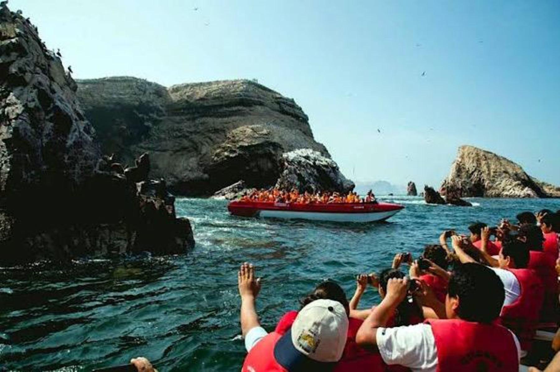 Islas Ballestas en Paracas, Ica. Cortesía