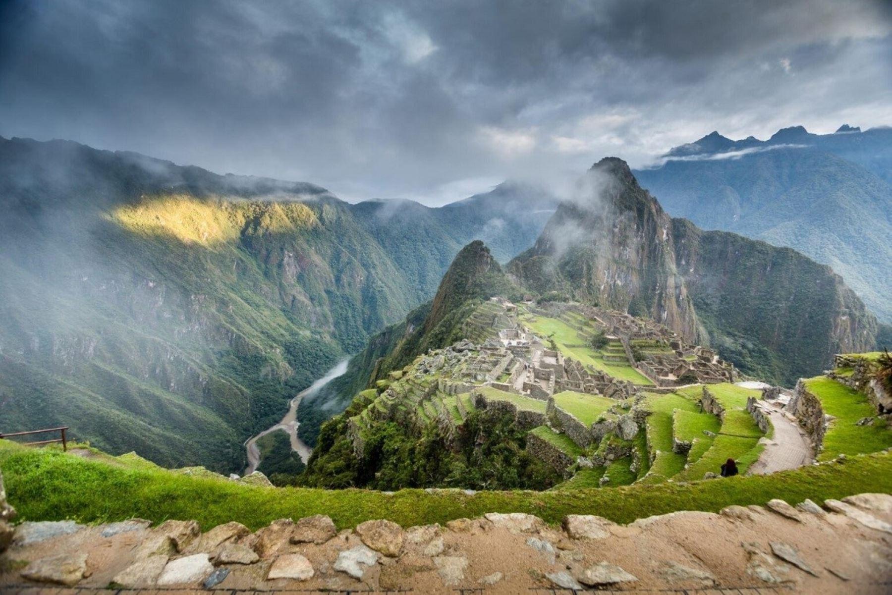 La ciudadela inca, ubicada dentro del Santuario Histórico y Parque Arqueológico de Machu Picchu, es el principal atractivo turístico del Perú y ha sido distinguida como Patrimonio de la Humanidad por la Unesco. Foto: AFP