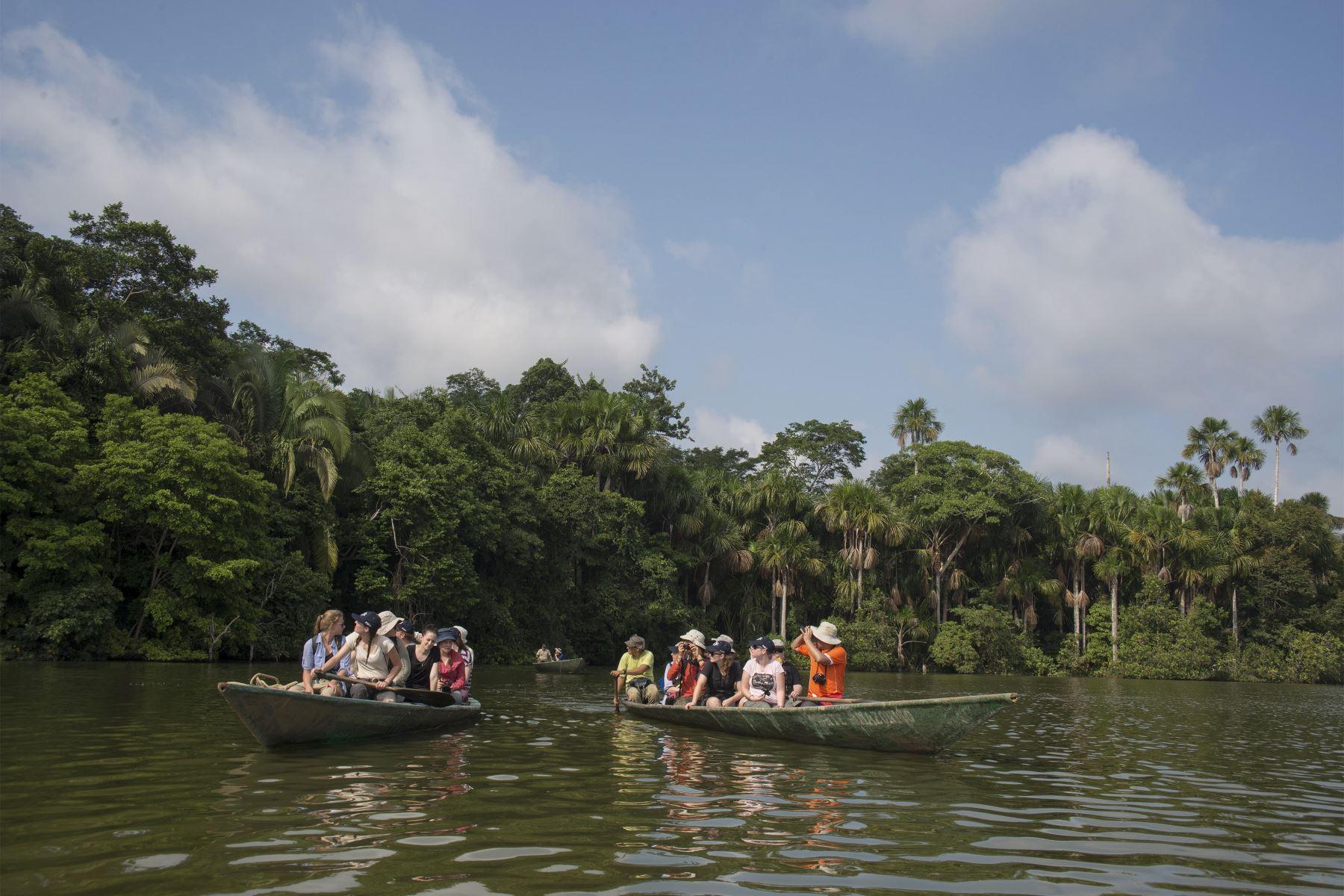 Lago Sandoval en la Reserva Nacional de Tambopata. Foto: Ramsar Perú