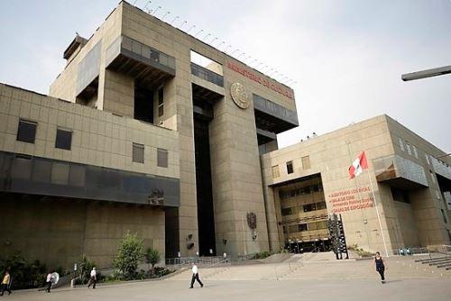 Sede central del Ministerio de Cultura, en el distrito de San Borja. ANDINA/Difusión