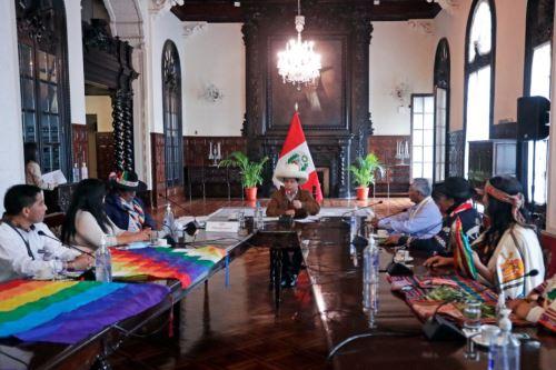 Presidente Castillo se reunió con representantes de comunidades campesinas afectadas por la minería e hidrocarburos