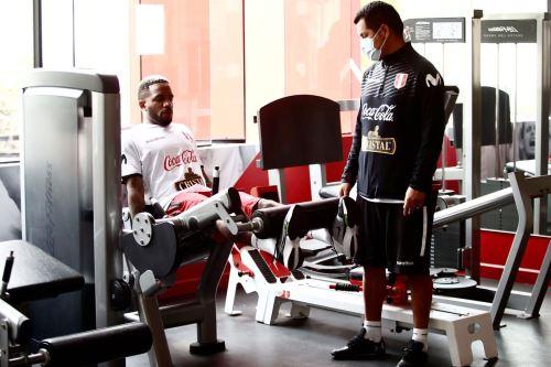 Selección Peruana en su 2do día de entrenamientos con miras a las Clasificatorias al Mundial Qatar 2022
