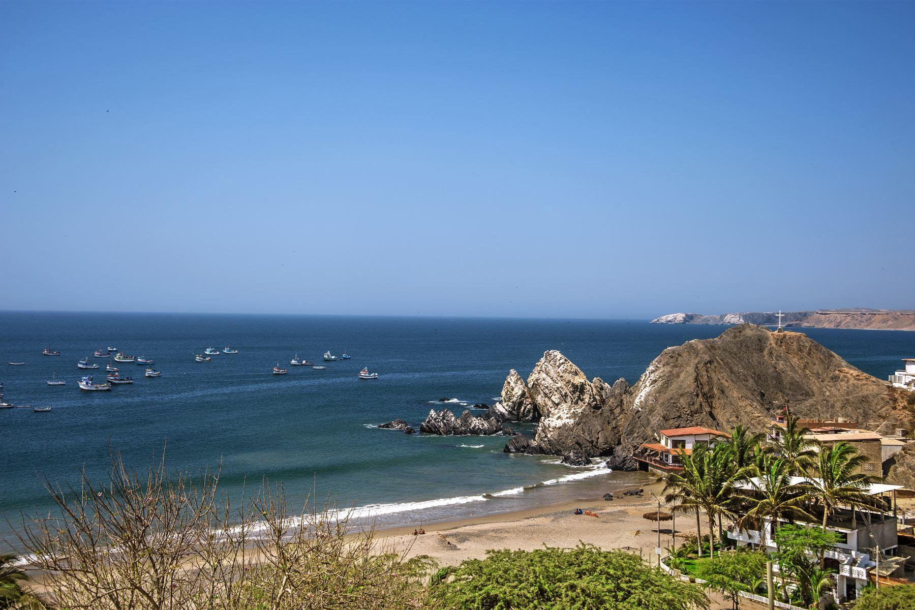 Playa Yacila en Paita. Foto: Difusión / PROMPERU