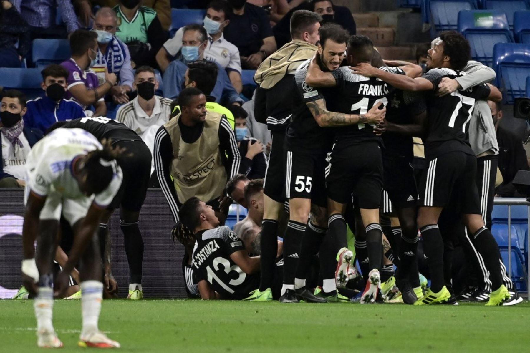 "Ancelotti tras la derrota contra el Sheriff de Dulanto: ""Vamos a reaccionar"""