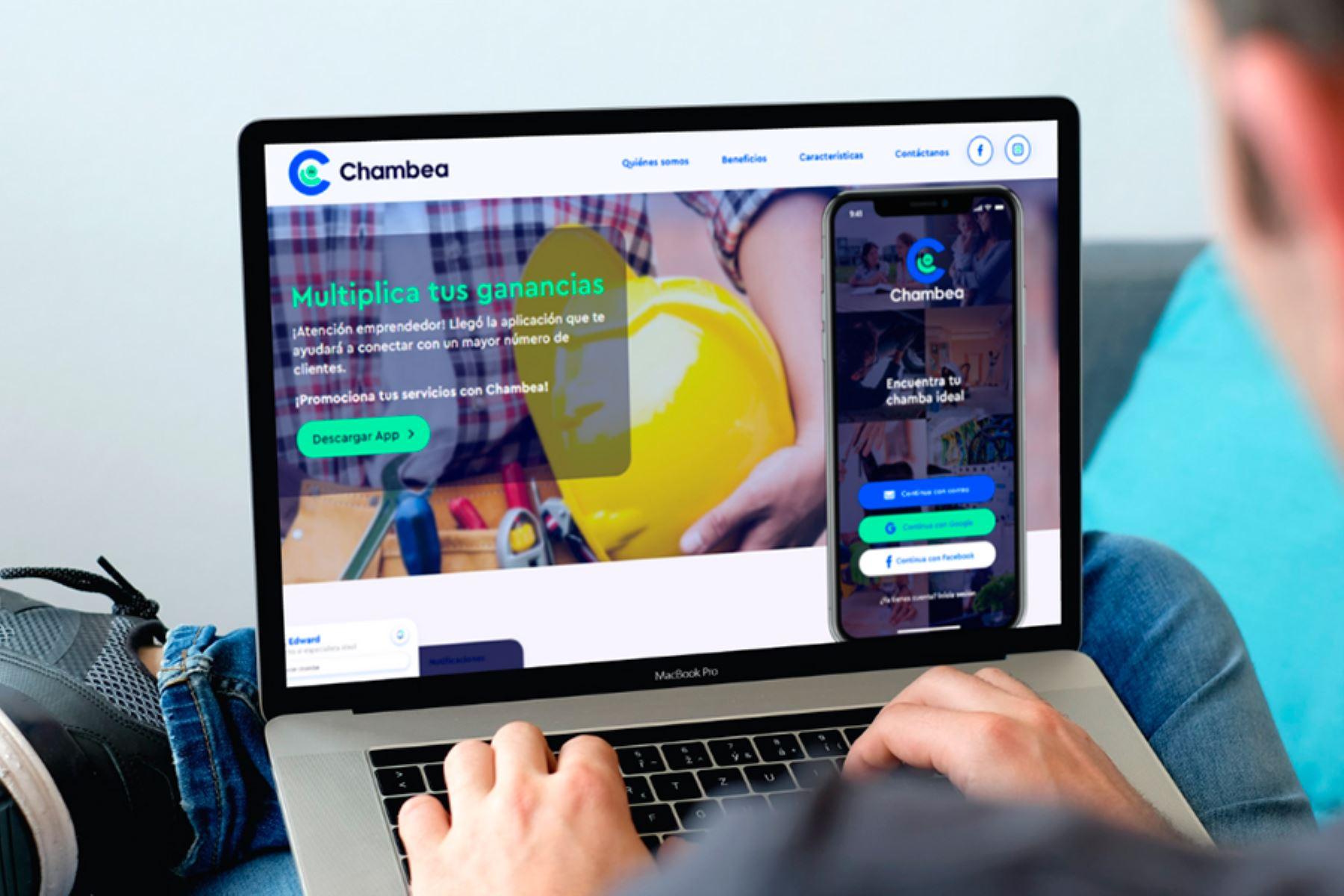 Peruano desarrolla una aplicación que conecta a emprendedores y clientes