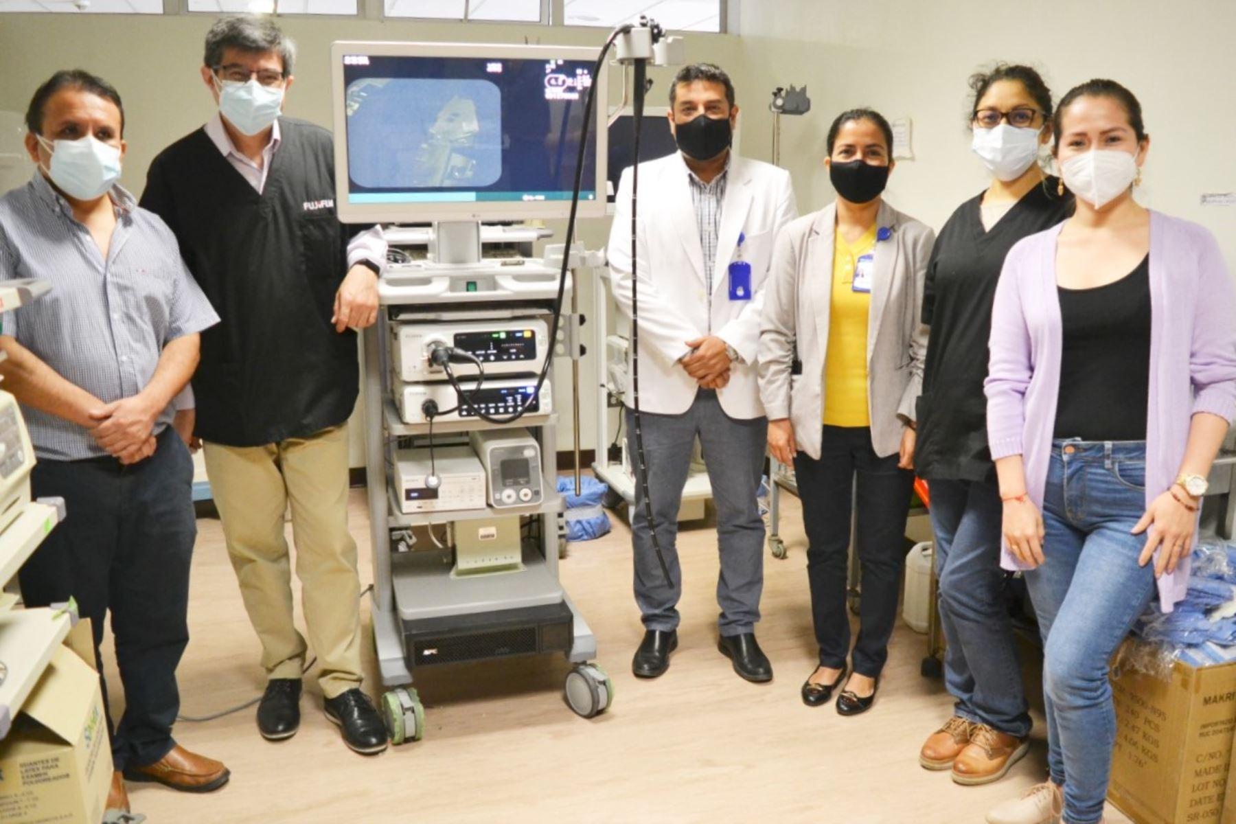 Lambayeque: torre endoscópica mejora diagnóstico y tratamiento de pacientes