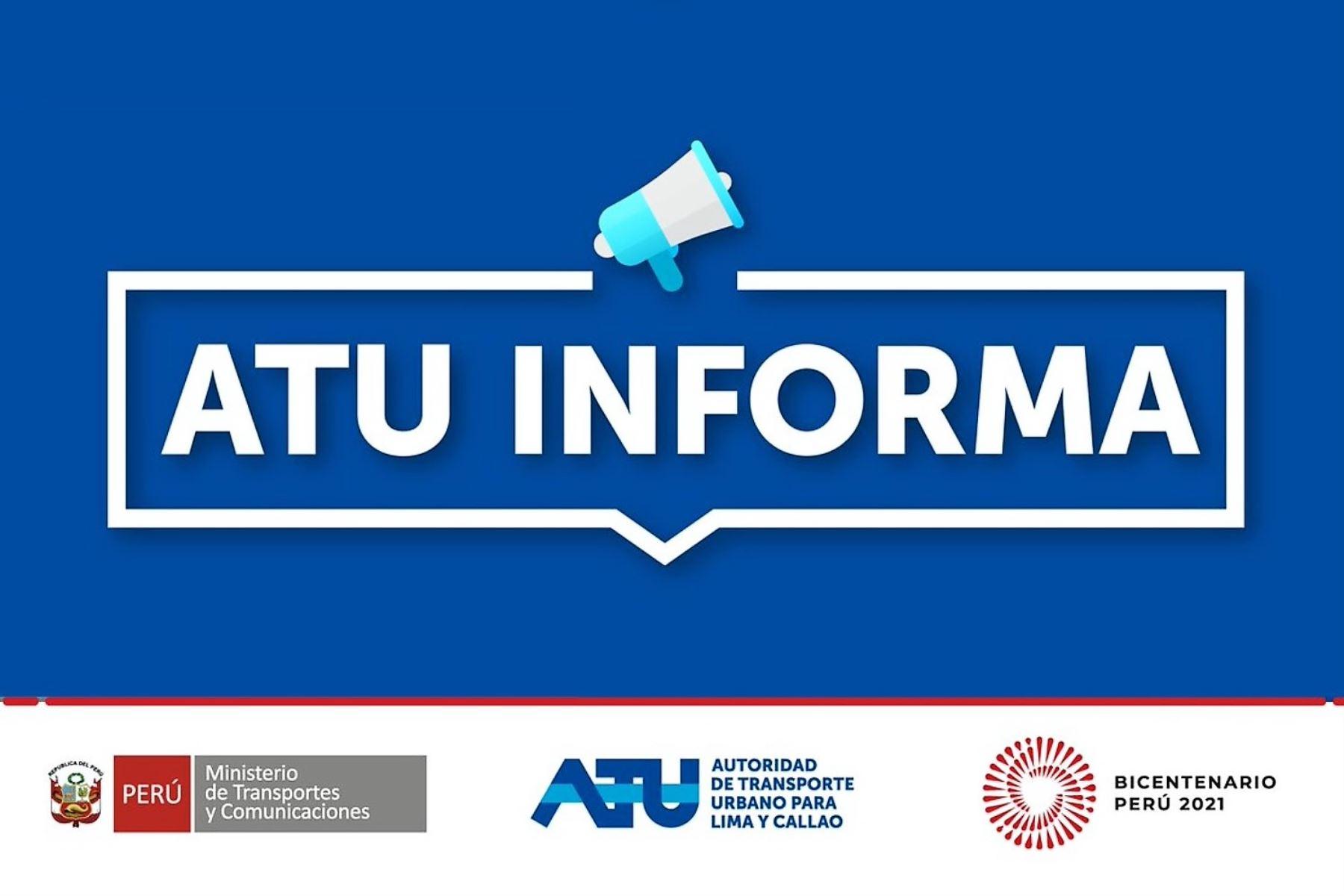 ATU sancionará a bus que chocó con auto en la Vía de Evitamiento y dejó varios heridos