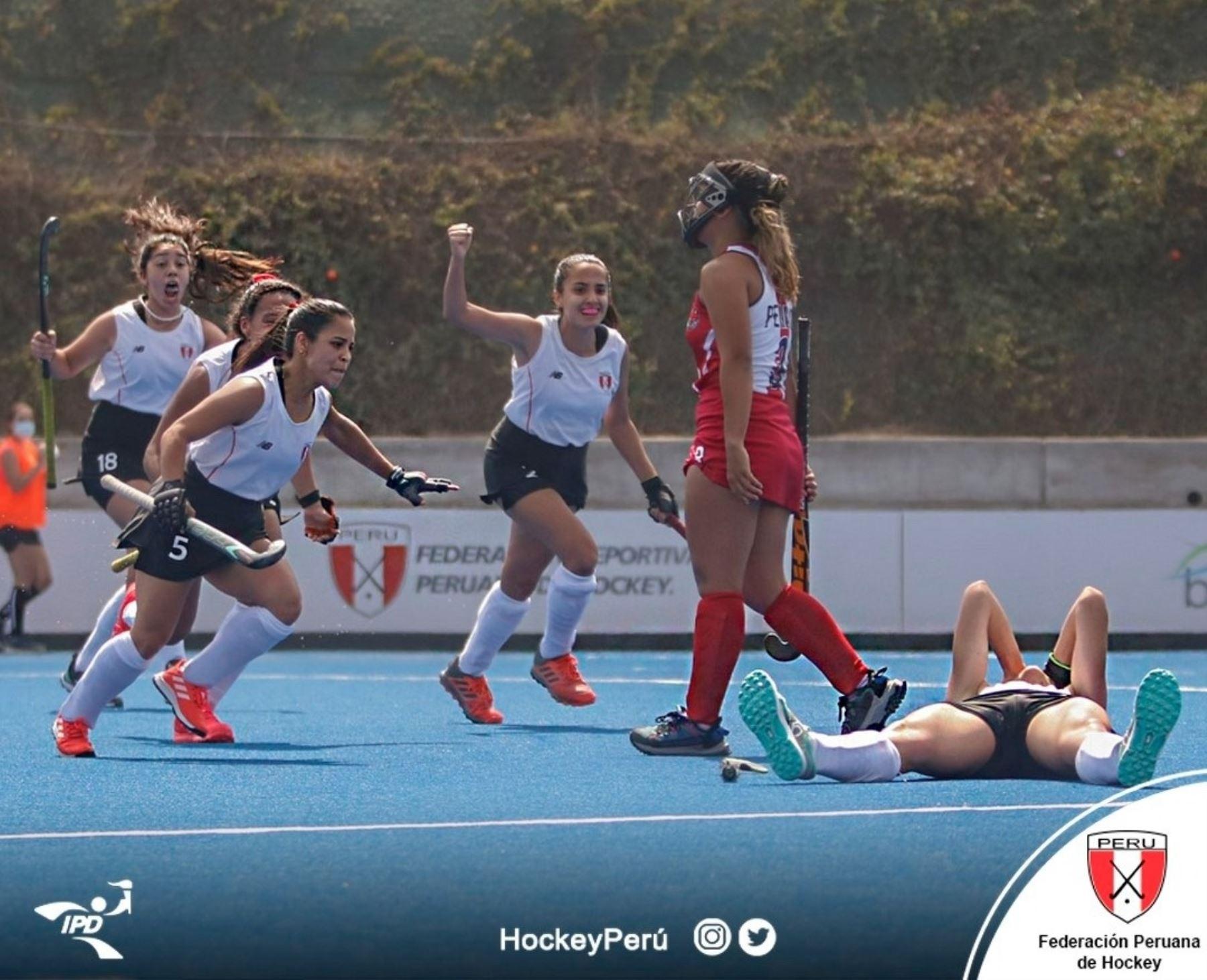 Perú enfrentará Brasil en la semifinal del Challenger Panamericano de Hockey