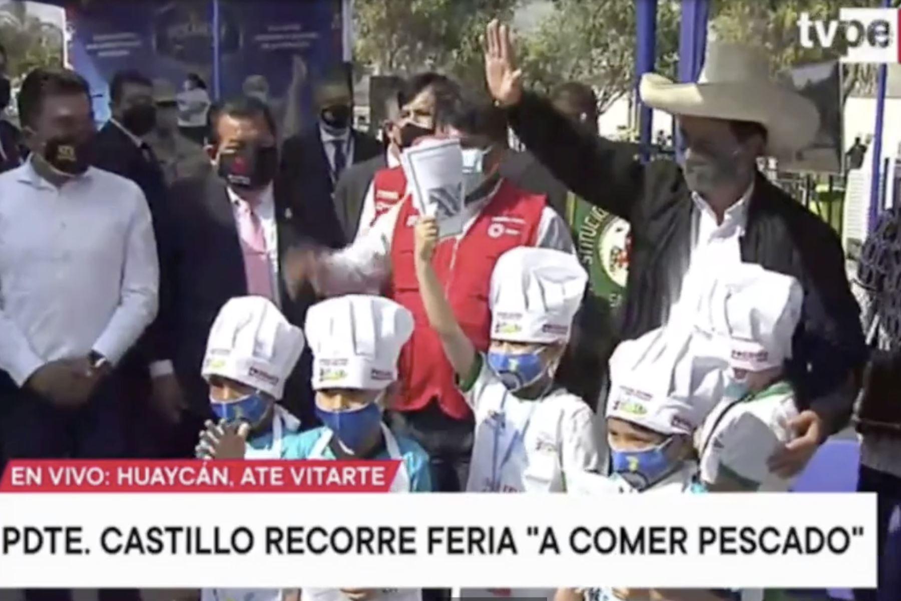 Presidente Castillo: Gobierno hará todo lo posible para que el gas llegue a todo el país