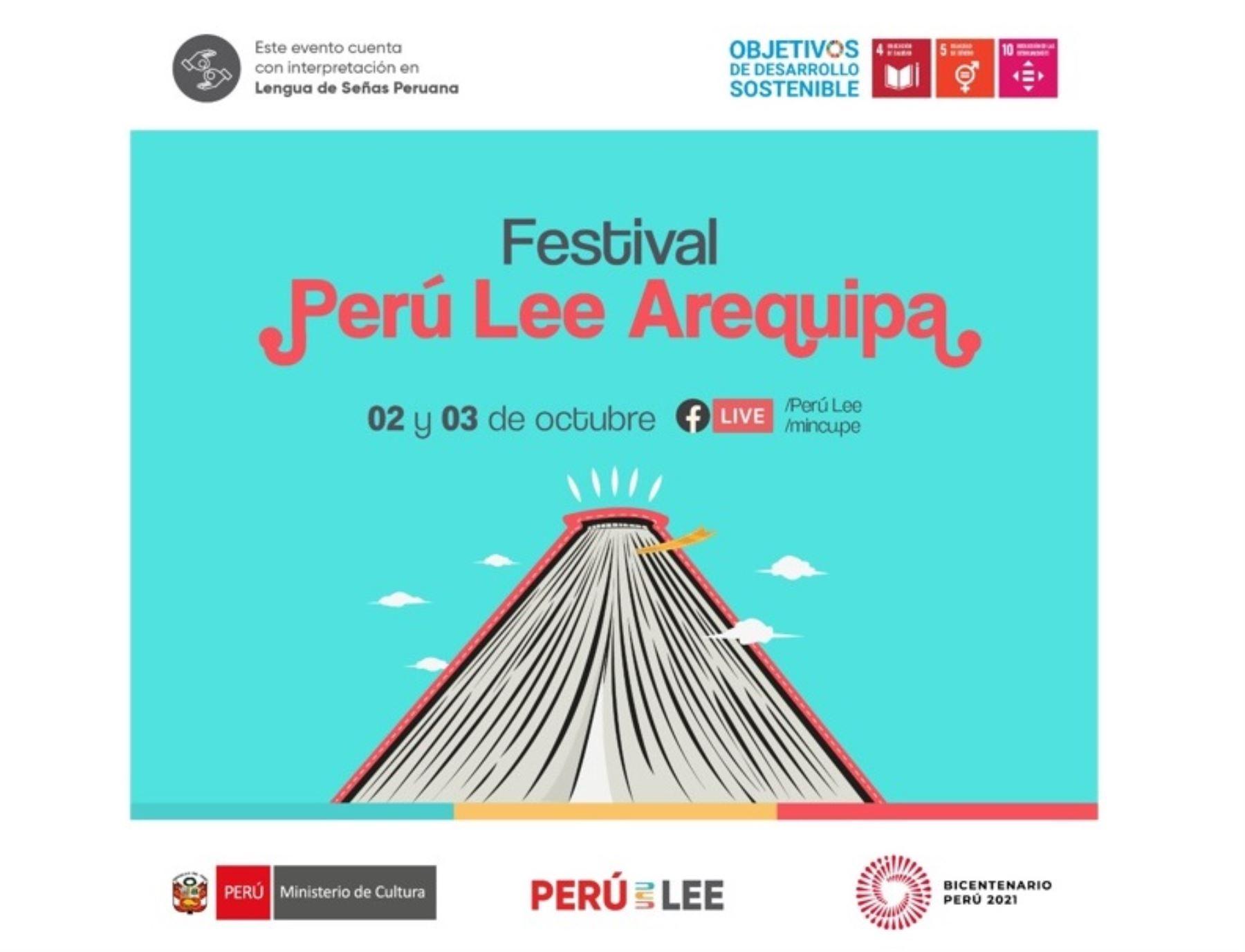 Festival Perú Lee Arequipa: hoy se realiza conversatorio sobre sus clubes de lectura