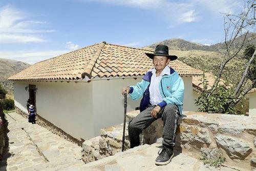 Andrés Castro Sánchez, pues fue el primer alcalde de Surimana. Foto: Pensión 65