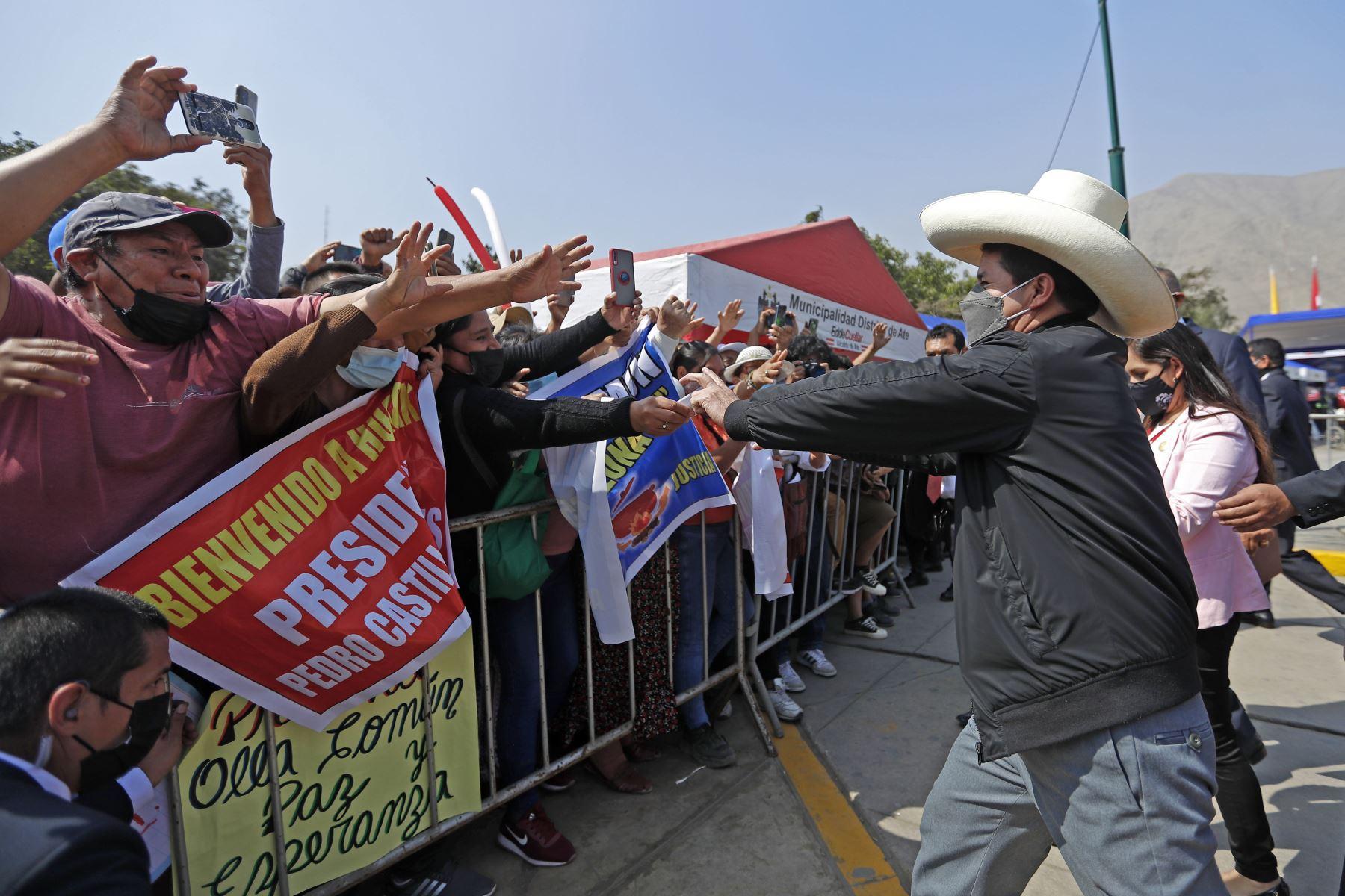 Presidente Castillo: apostamos por las inversiones con reglas claras y transparencia