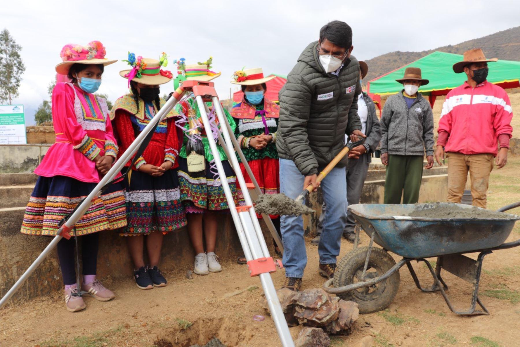 Áncash: ejecutarán obras de mejoramiento del sistema de riego en Yamor-Jarachacra