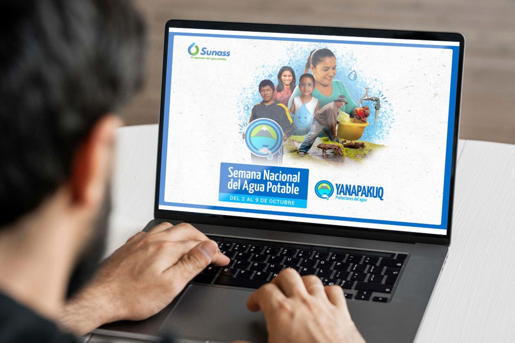 Sunass anuncia actividades para promover uso responsable del agua potable