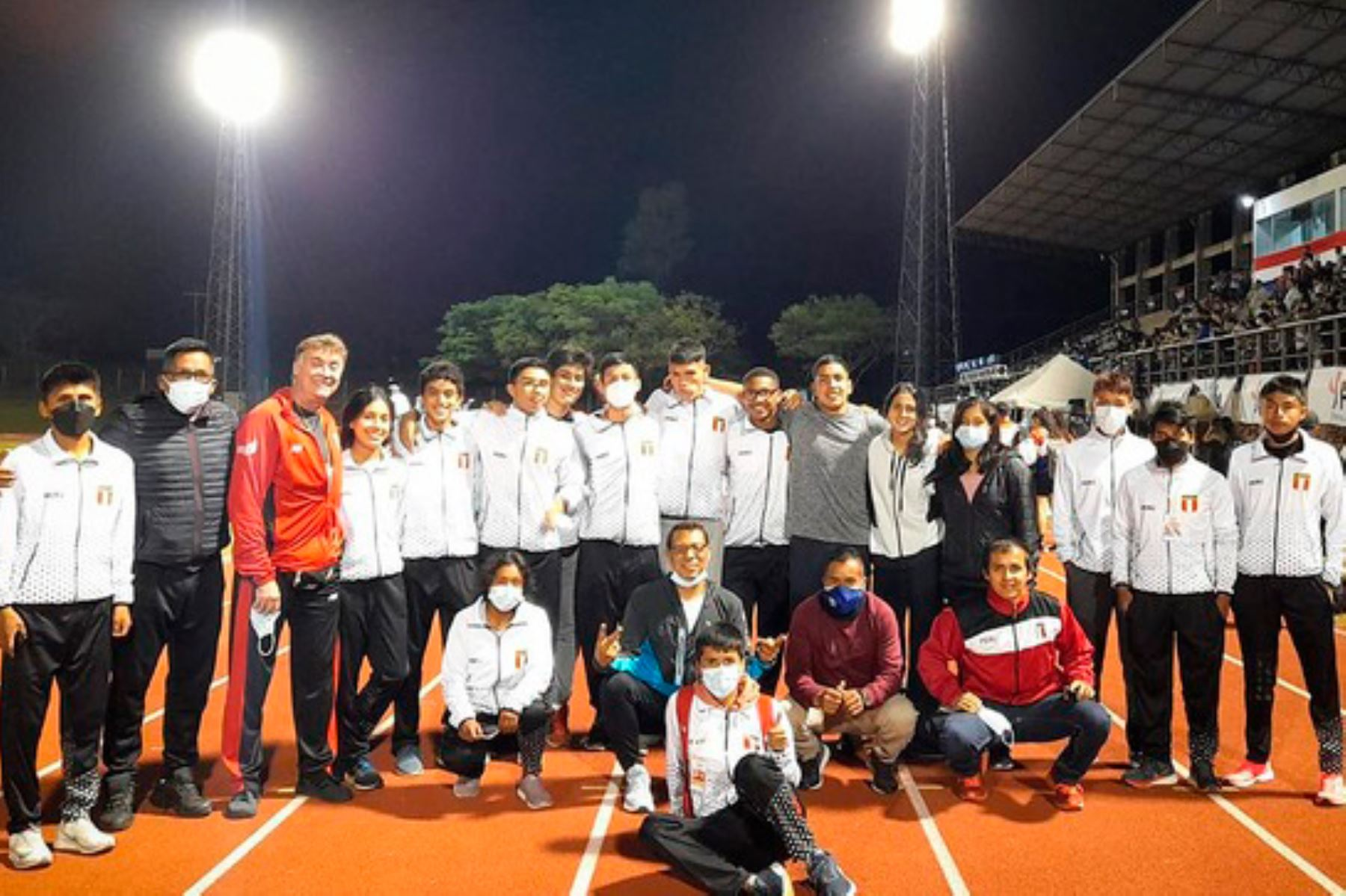 Selección peruana de atletismo gana 4 medallas en sudamericano sub 18 en Paraguay