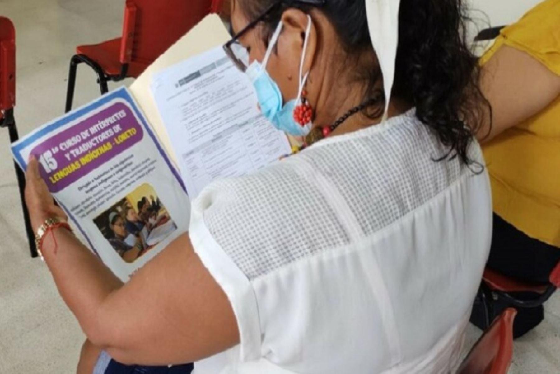Amplían fecha de convocatoria al Curso de Intérpretes y Traductores de Lenguas Indígenas
