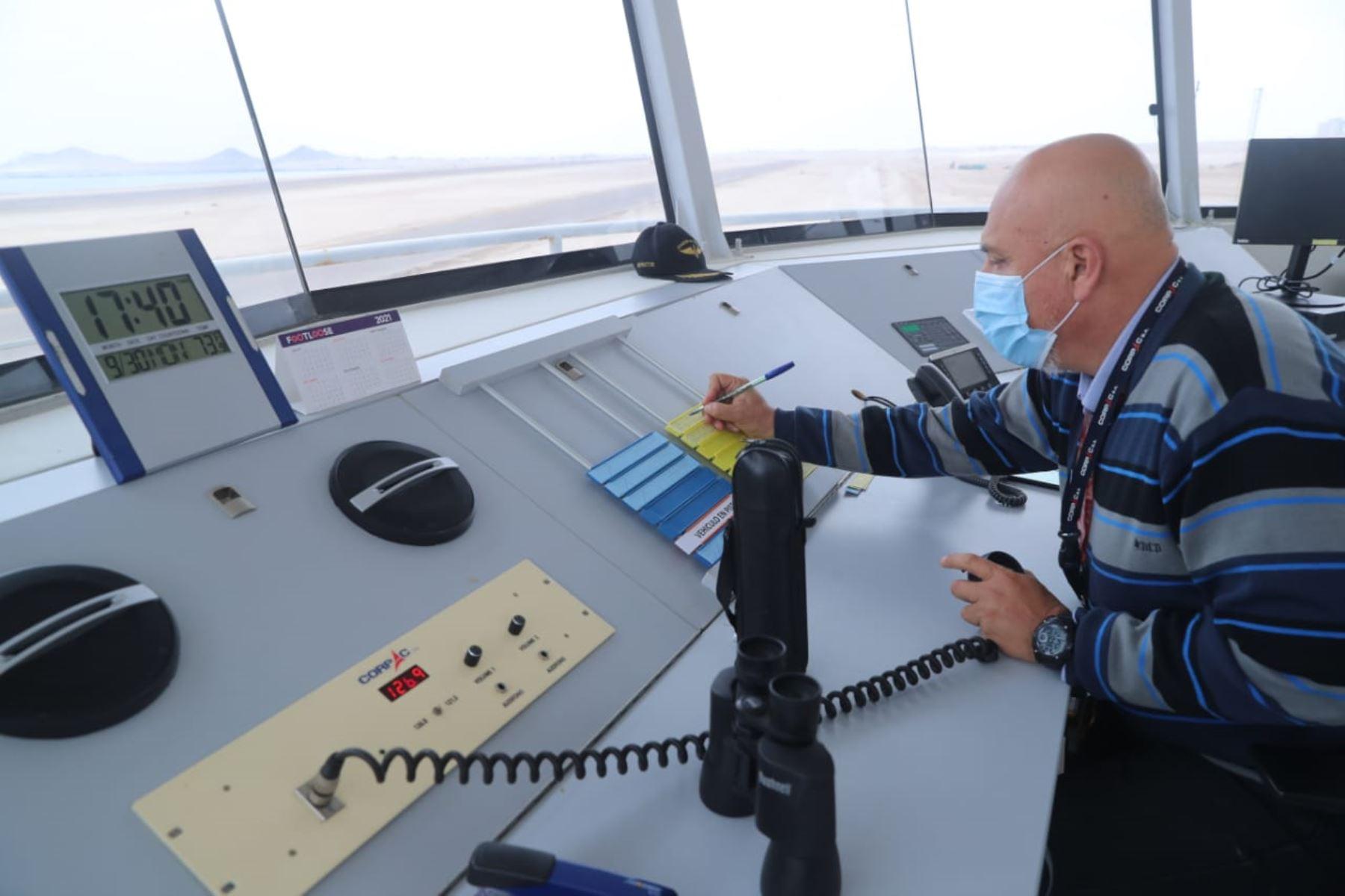 MTC: nueva torre de control del aeropuerto de Ilo asegura eficiencia de operaciones aéreas