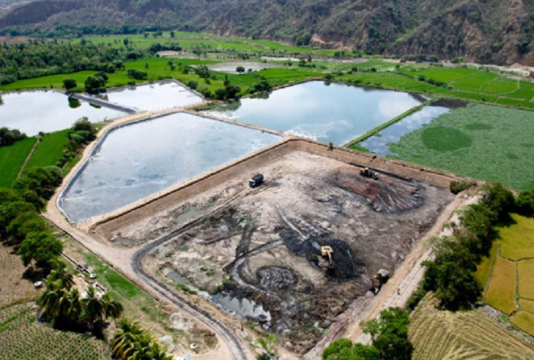 Cajamarca: EPS Marañón a punto de culminar limpieza de dos Lagunas de Oxidación