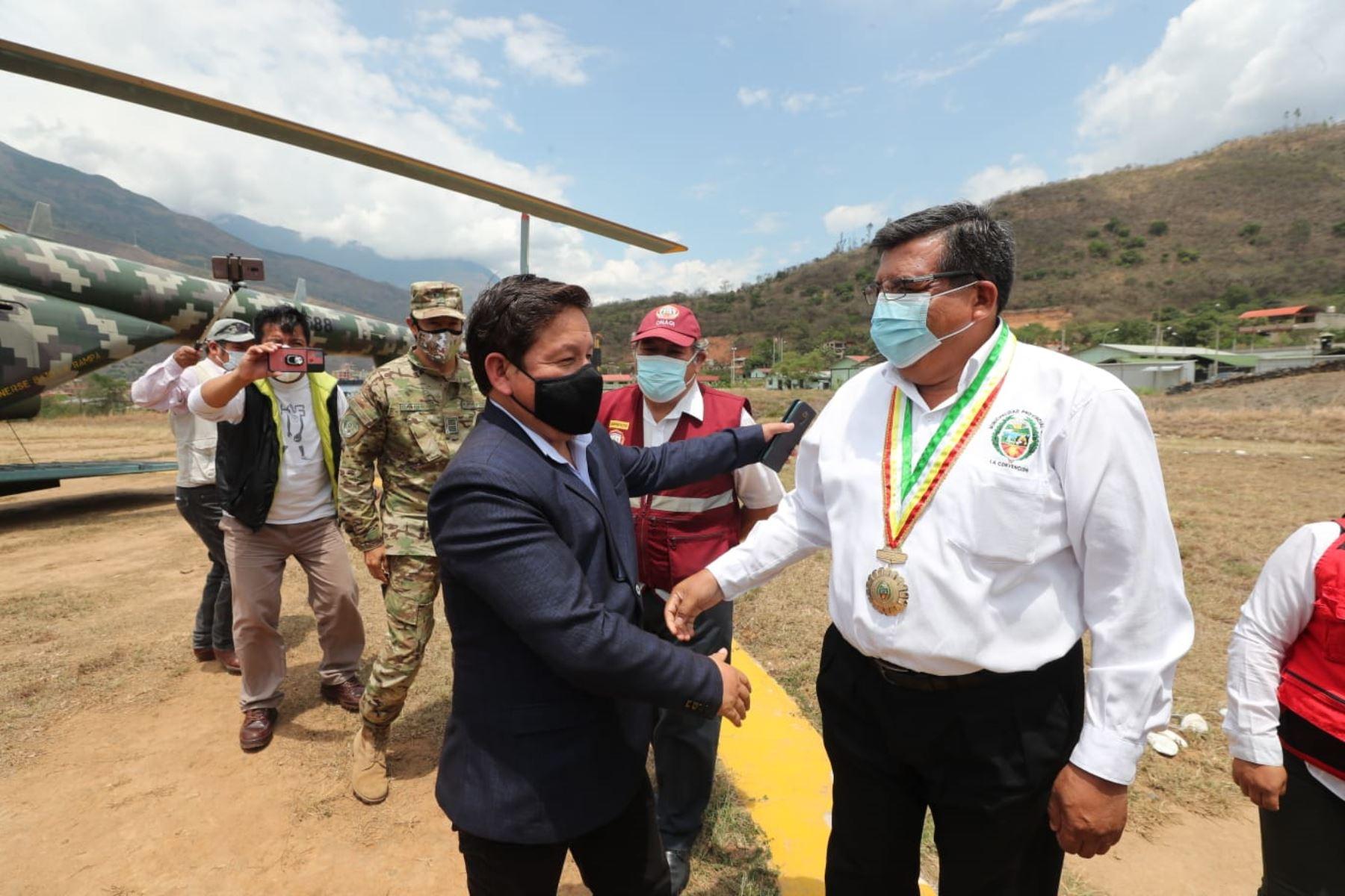 Jefe de Gabinete Ministerial arriba a Cusco para reunión multisectorial