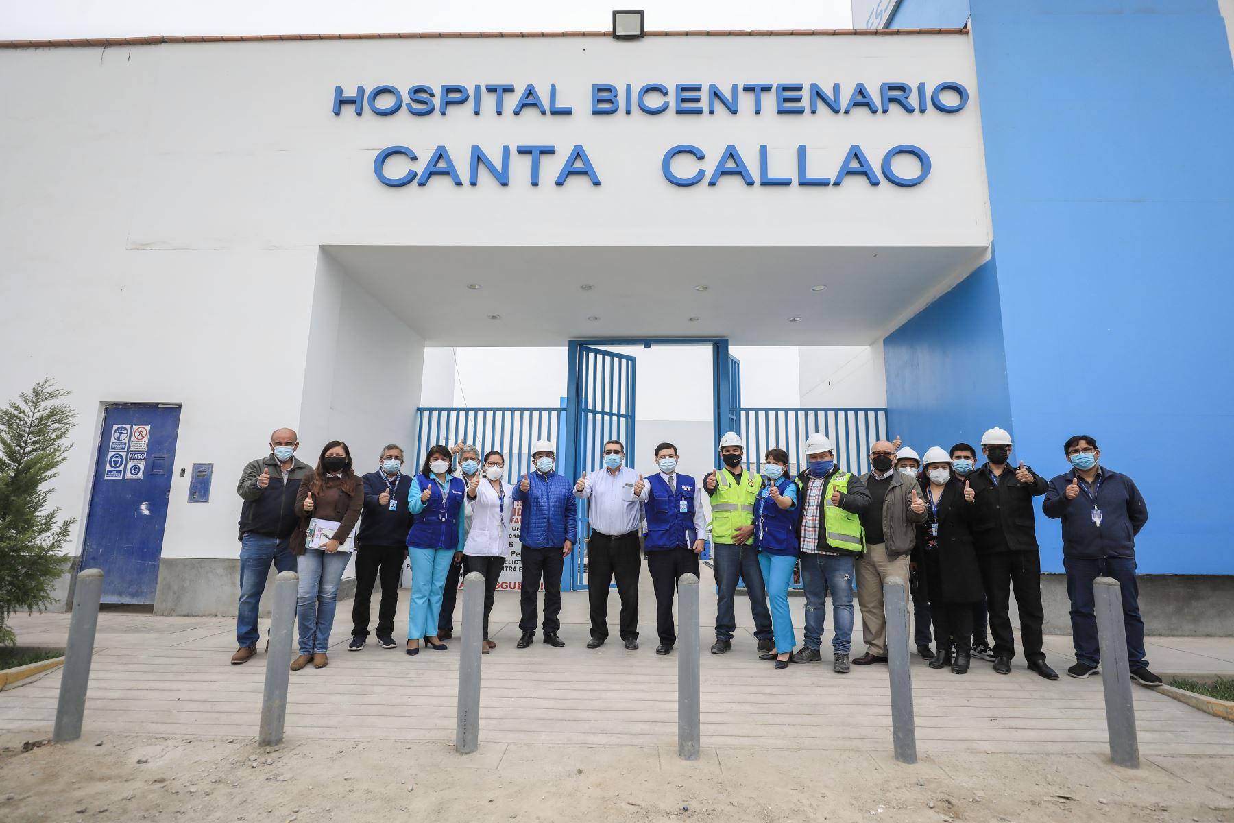 Moderno Hospital Bicentenario Canta Callao de EsSalud beneficiará a 120 mil asegurados