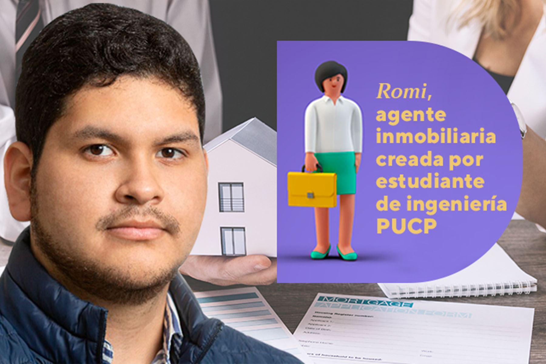 Estudiante crea chatbot para atención al cliente en el sector inmobiliario