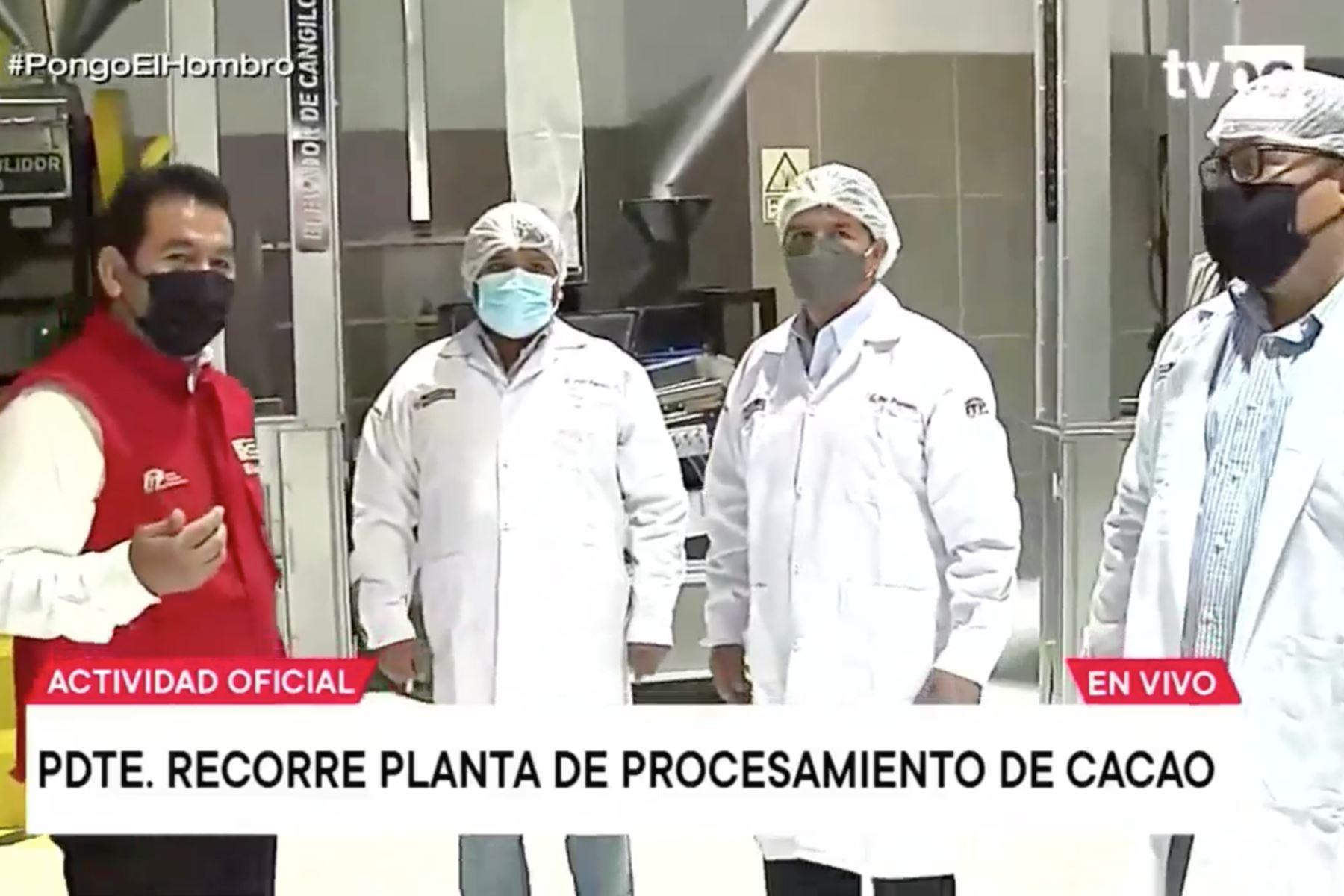 Presidente Castillo participa en inauguración de CITE-Agroindustrial Vraem