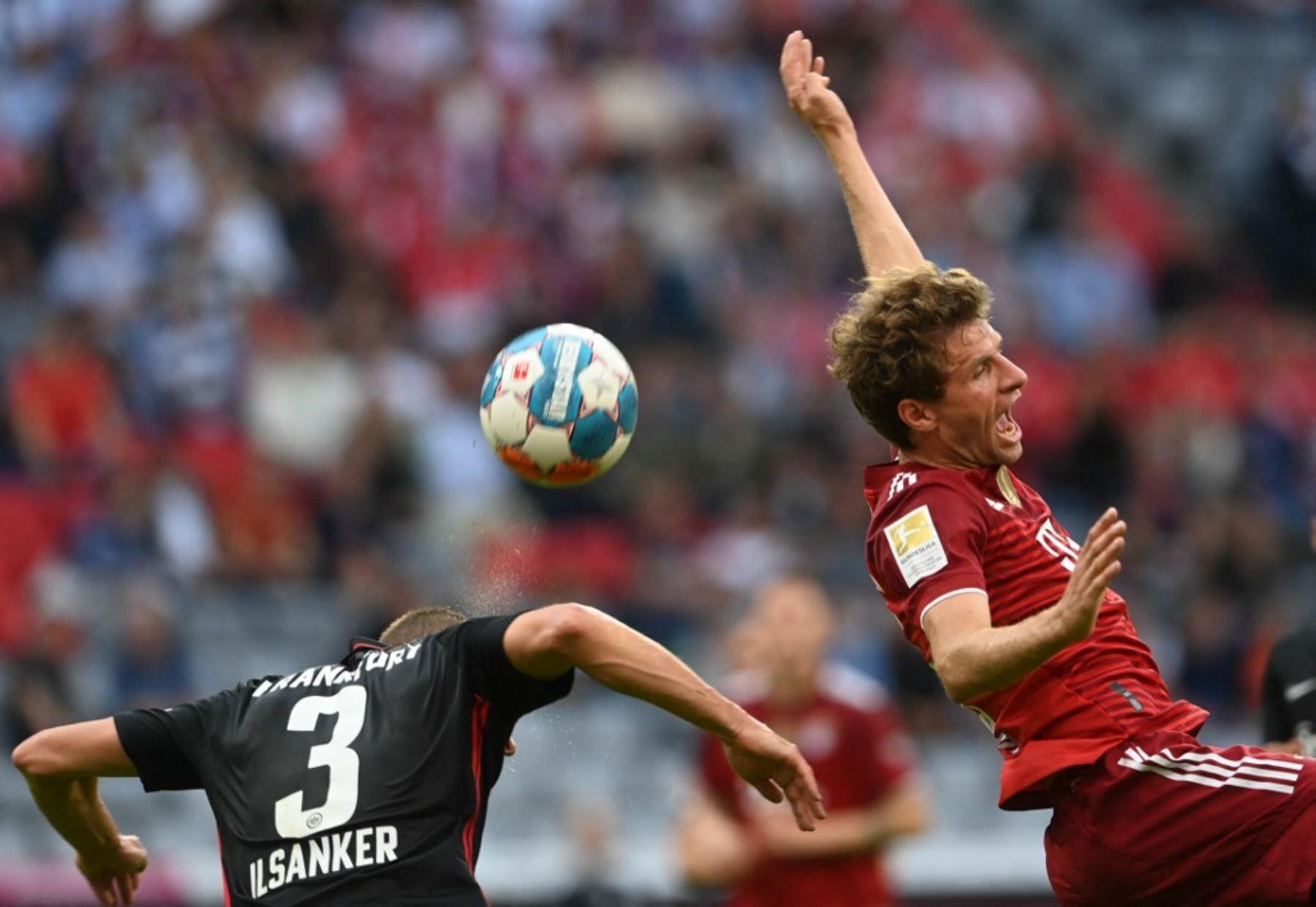 Bayern Múnich sufre su primera derrota de la temporada, en casa ante Frankfurt