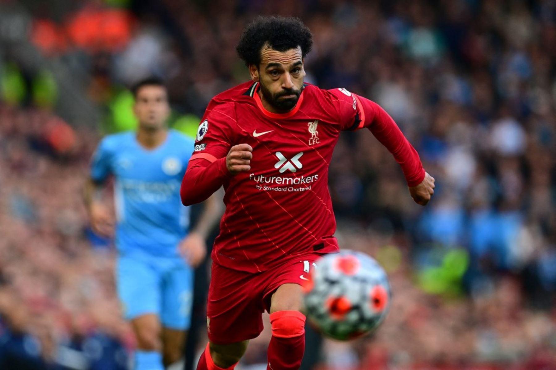 Liverpool y Manchester City igualaron en electrizante partido en Anfield