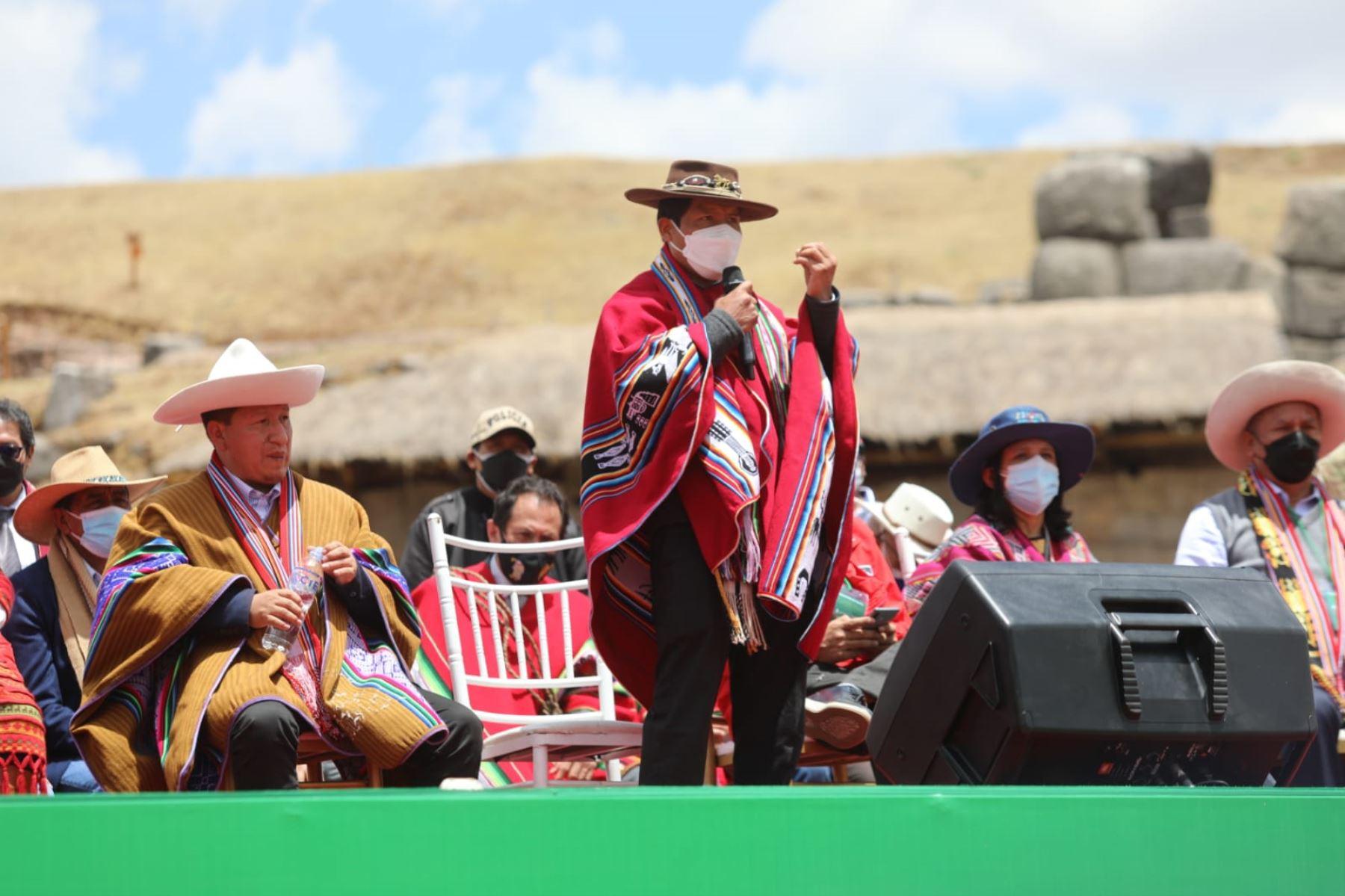 Ministro de Desarrollo Agrario y Riego, Víctor Maita. ANDINA/Difusión