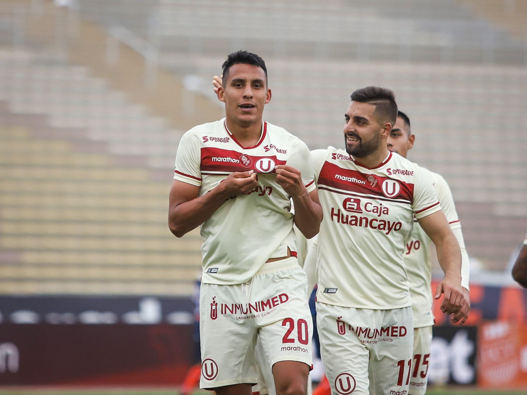 Universitario goleó a César Vallejo y está en zona de acceso a la Libertadores