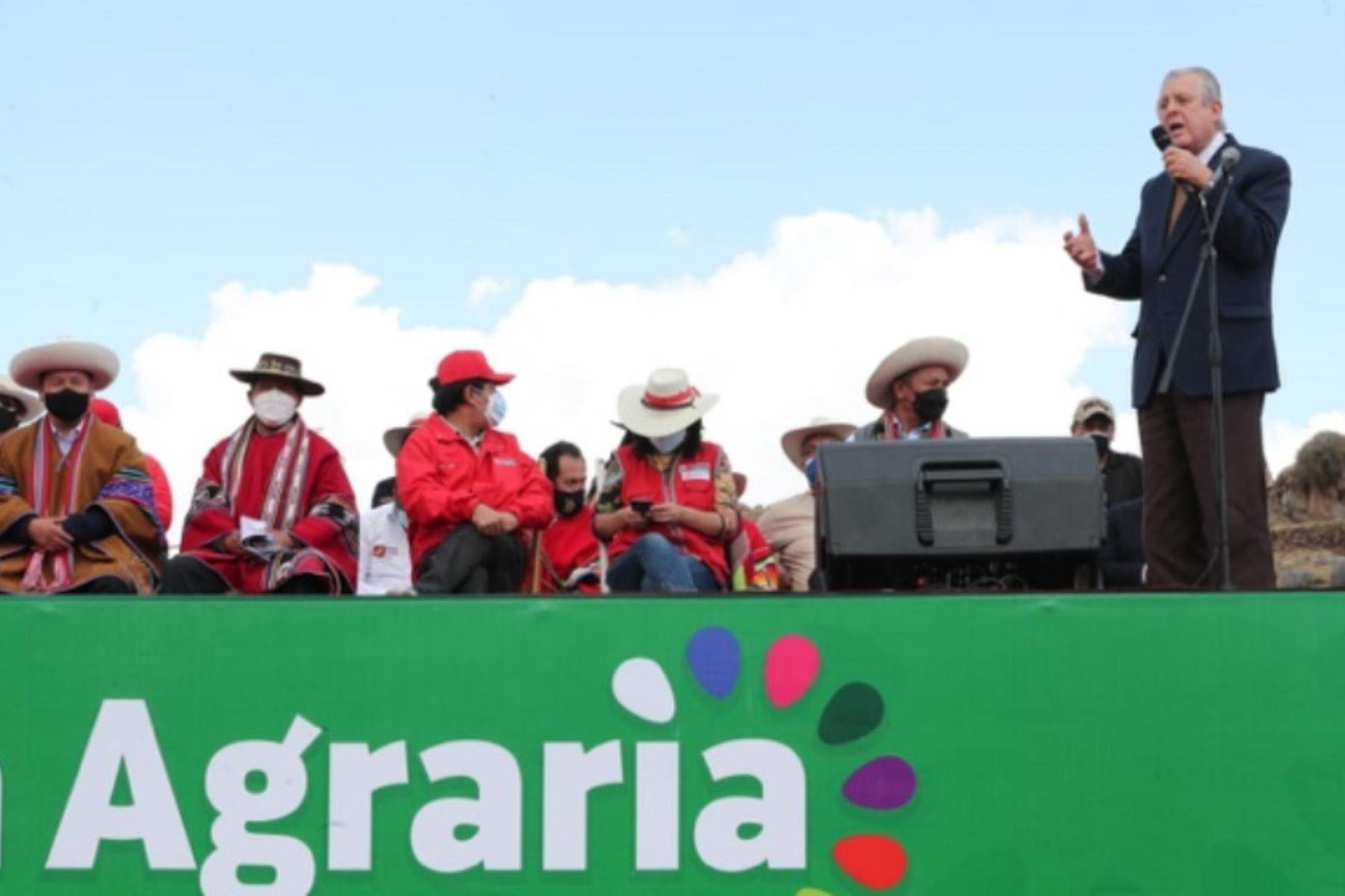 Cancillería apoyará a viabilizar programas contemplados en la segunda reforma agraria
