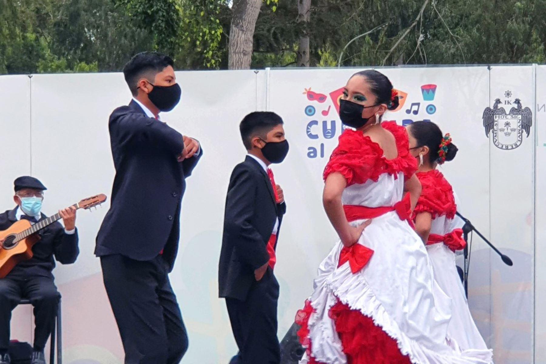 Cultura al Aire Libre presenta música criolla y danzas folclóricas
