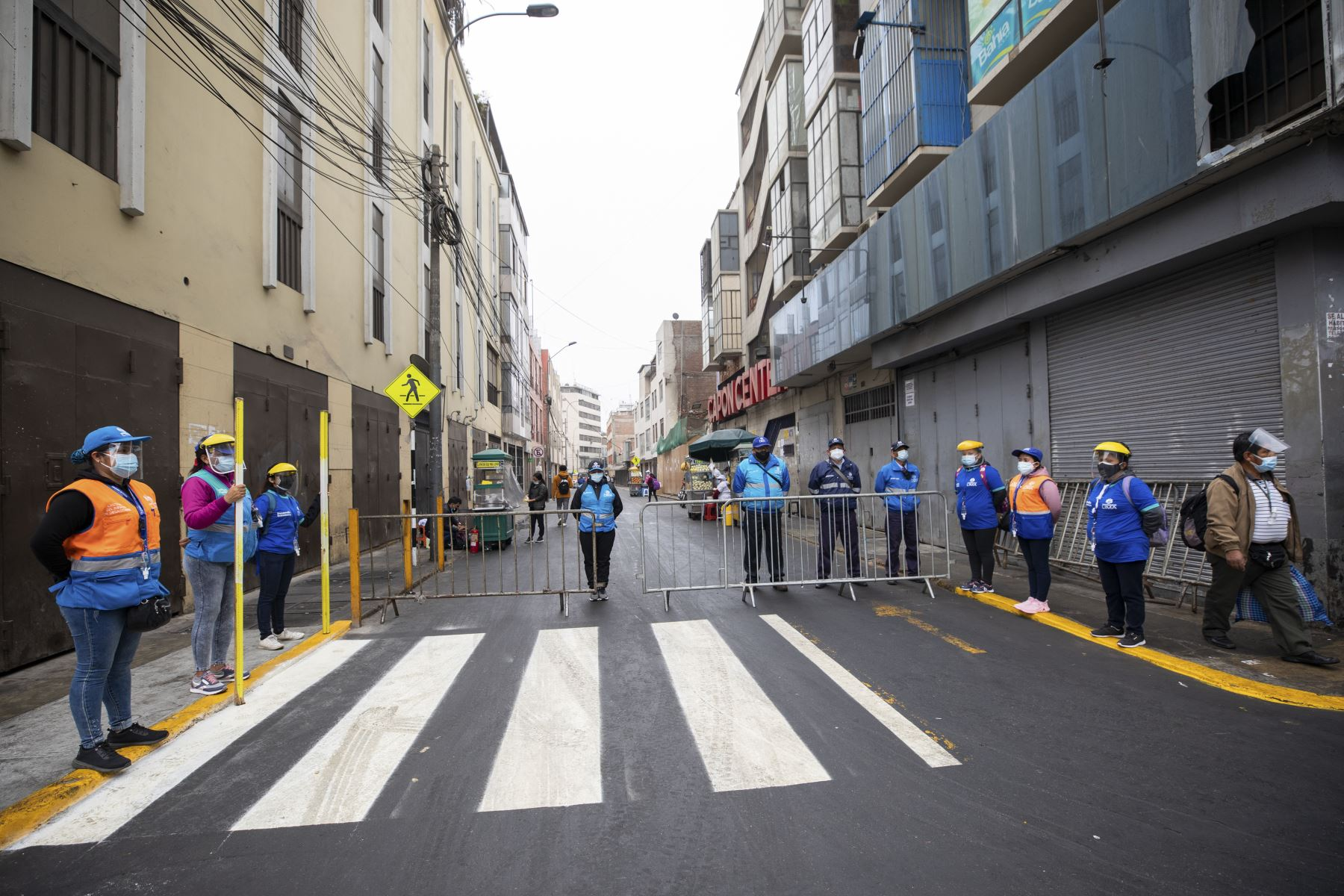 From today vehicles will be able to circulate on Jr. Paruro and it will be an alternative to transit between Av. Abancay and Jr. Huanta.  Photo: ANDINA / Municipality of Lima