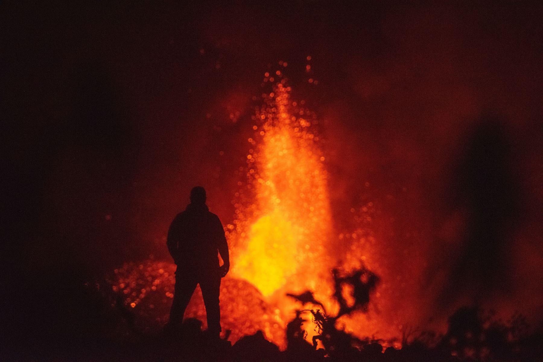 La erupción del volcán de La Palma no acabará ni a corto ni a medio plazo