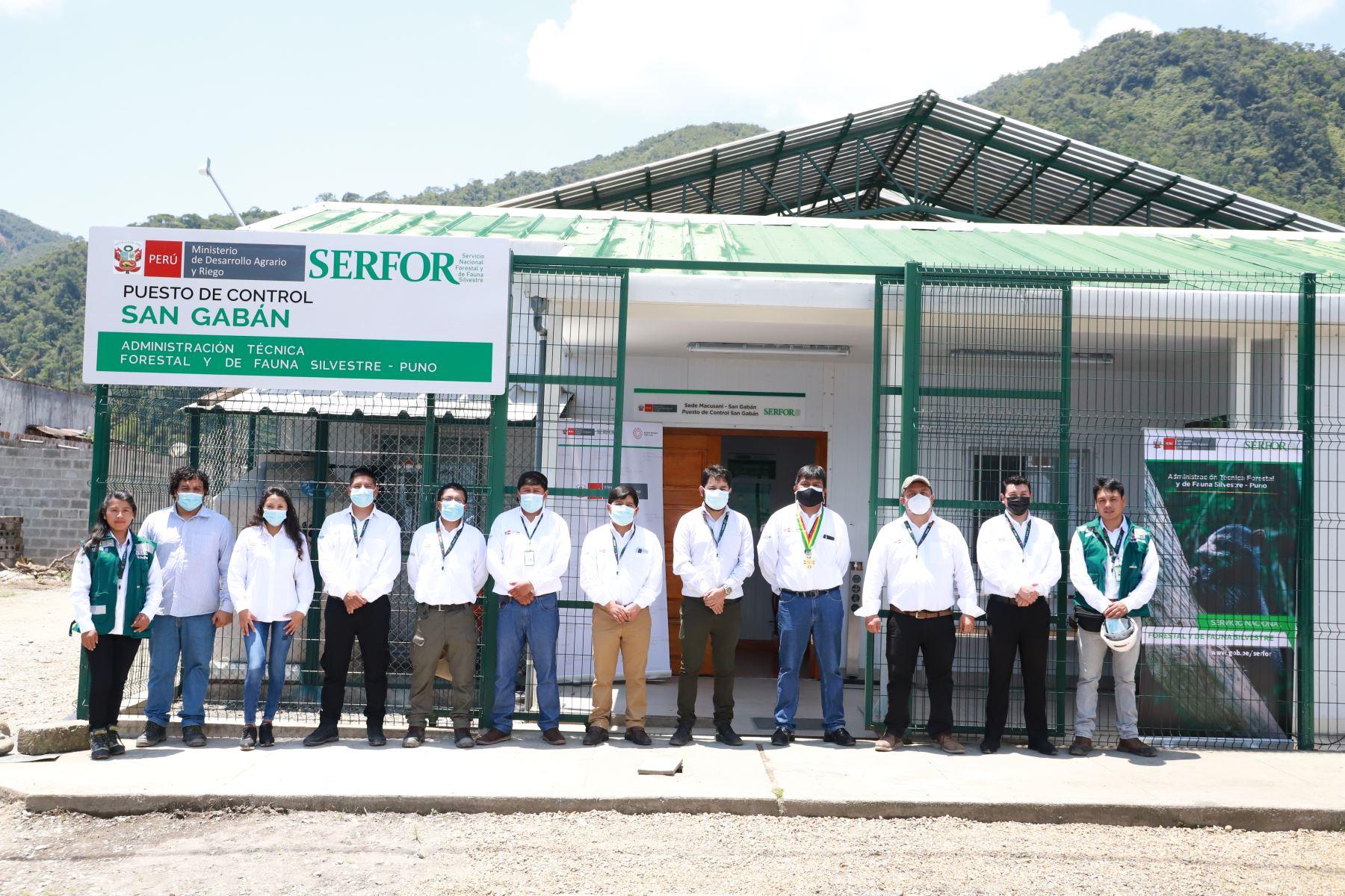 Puno: Serfor mejora el control y vigilancia forestal y de fauna en Macusani y San Gabán
