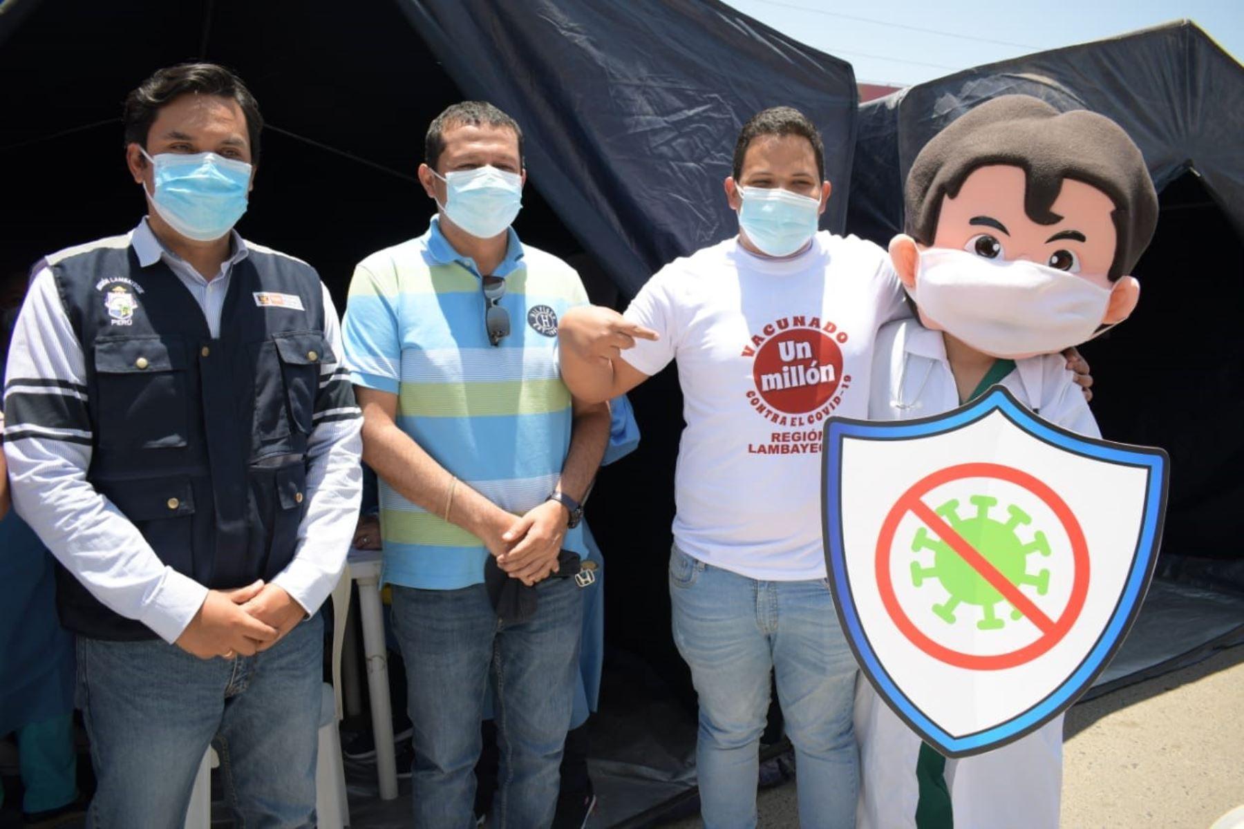 Lambayeque alcanza el millón de vacunas aplicadas contra la covid-19