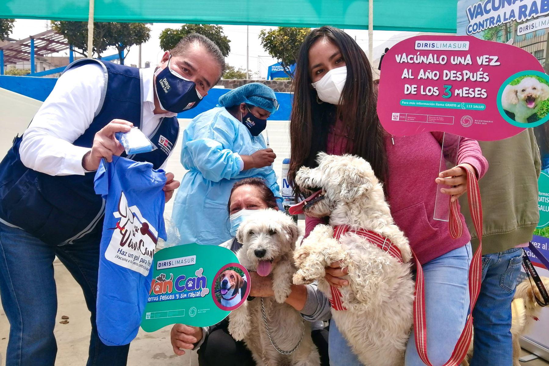 VanCan 2021: más de 52,000 canes fueron vacunados contra la rabia