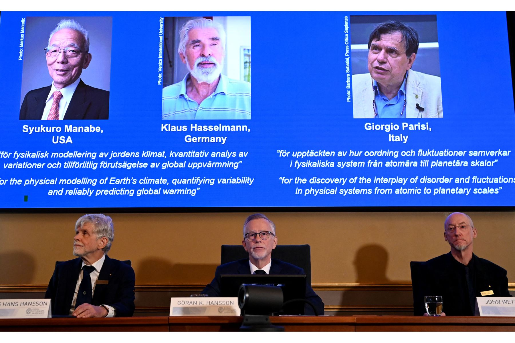 Nobel de Física Giorgio Parisi anima a su país a gastar más en ciencia