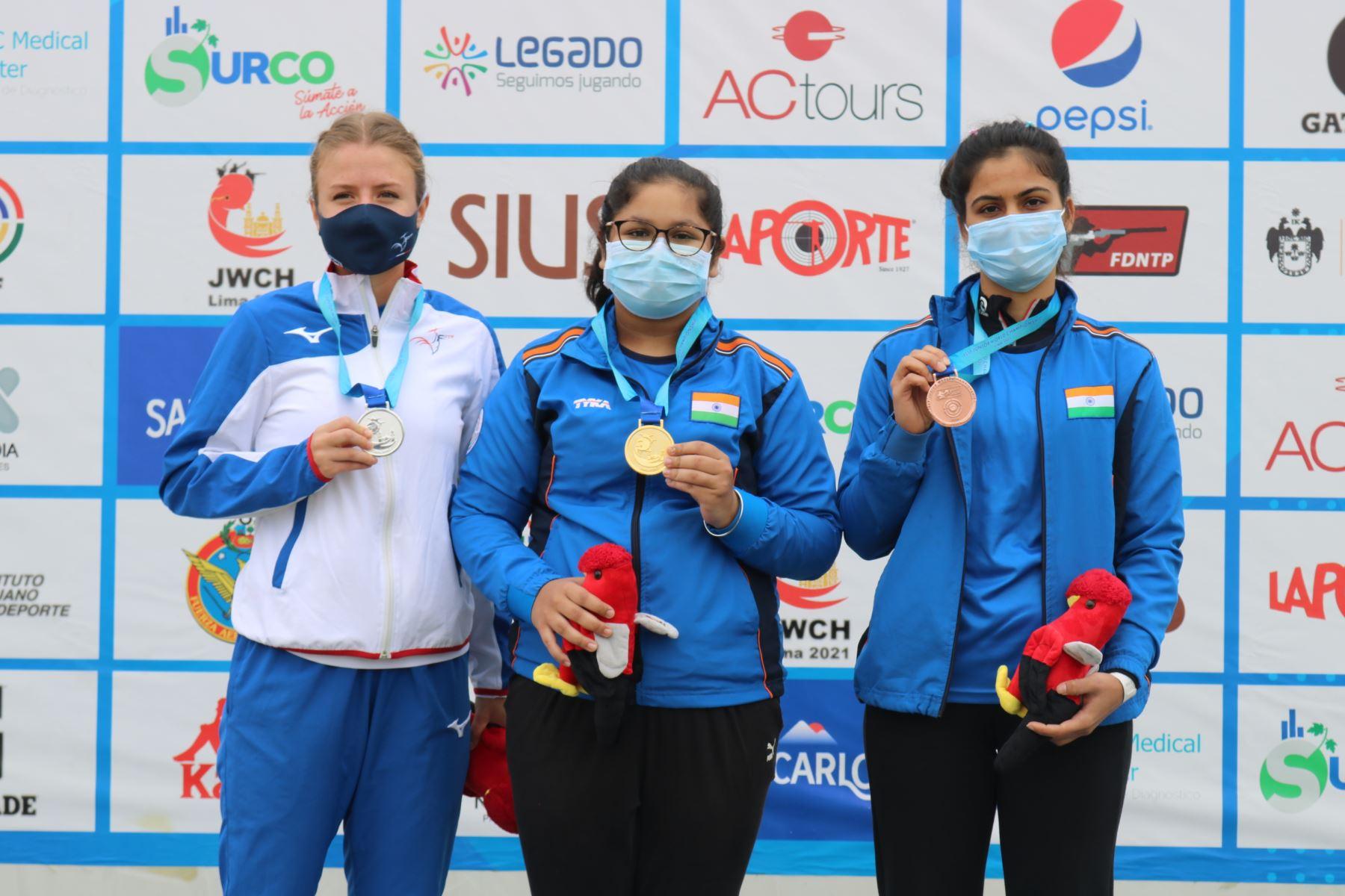 La India impone un nuevo récord en el Mundial Junior de Tiro Lima 2021