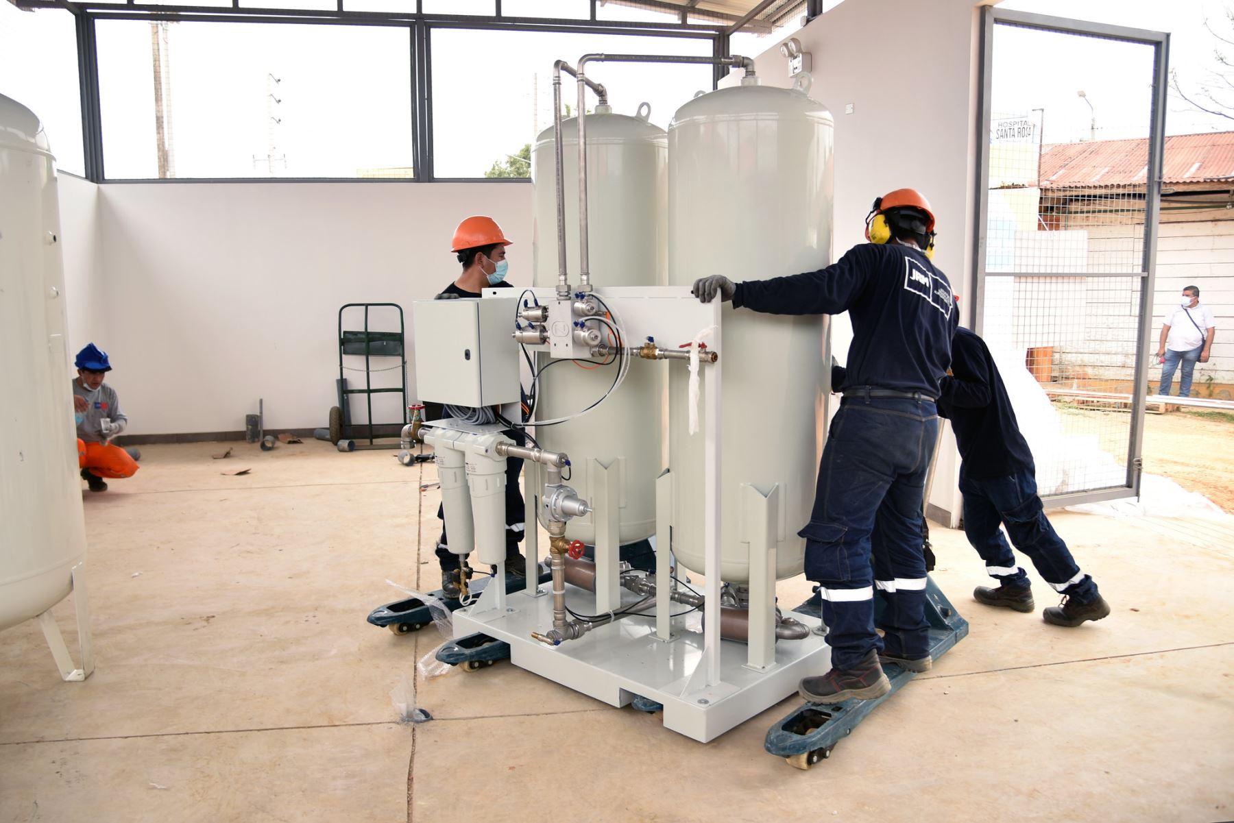 Madre de Dios: Proyecto Legado trasladó nueva planta de oxígeno para hospital Santa Rosa