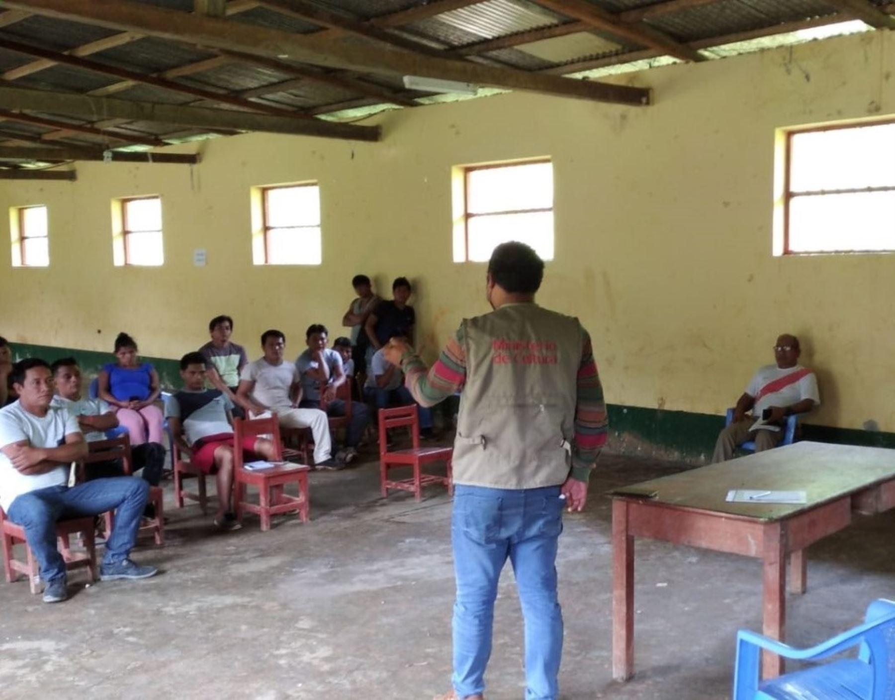 Cajamarca: comunidades nativas se informan sobre importancia de vacuna contra el covid-19