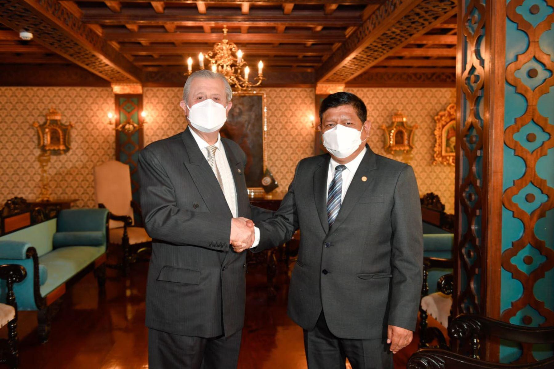 Cancillería y Mindef impulsan presencia de Perú en el Sistema de Seguridad Internacional
