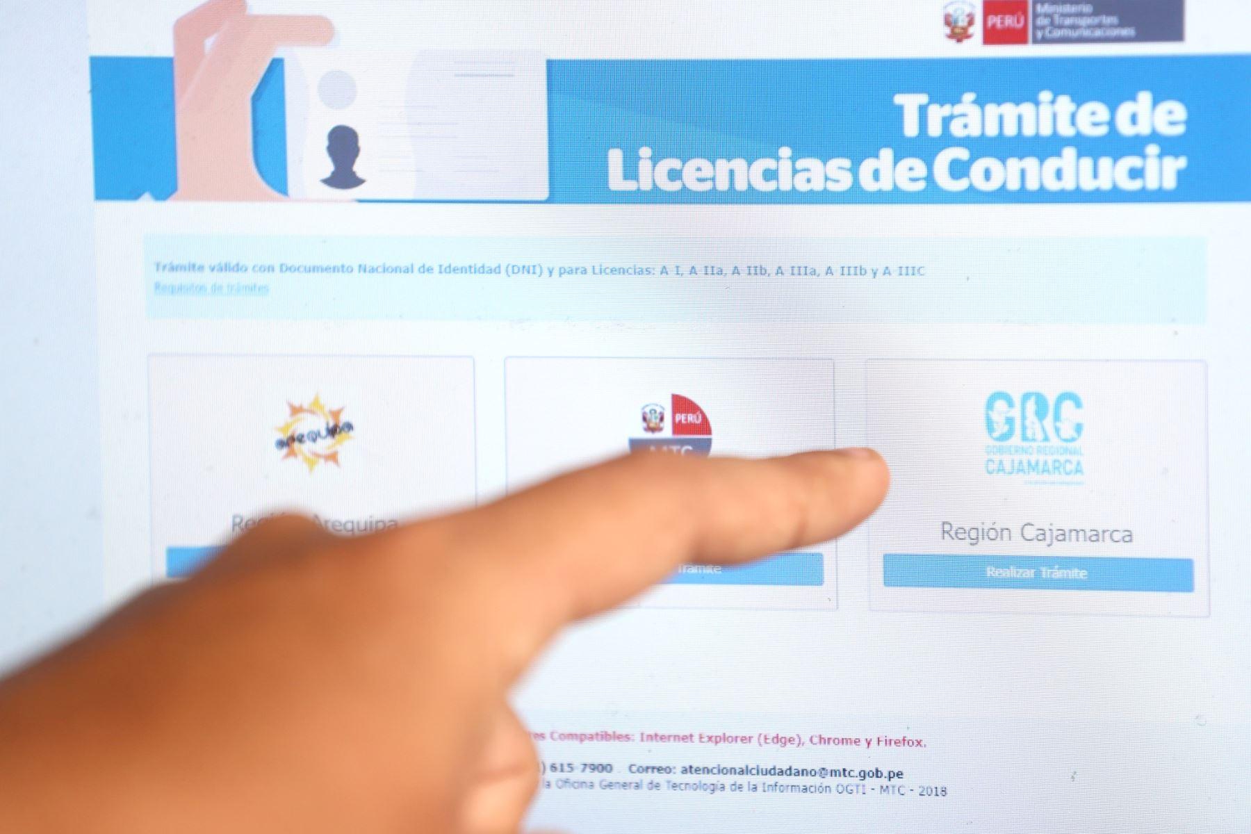 ¡Atención, conductores! Cajamarca es la primera región en emitir brevete electrónico