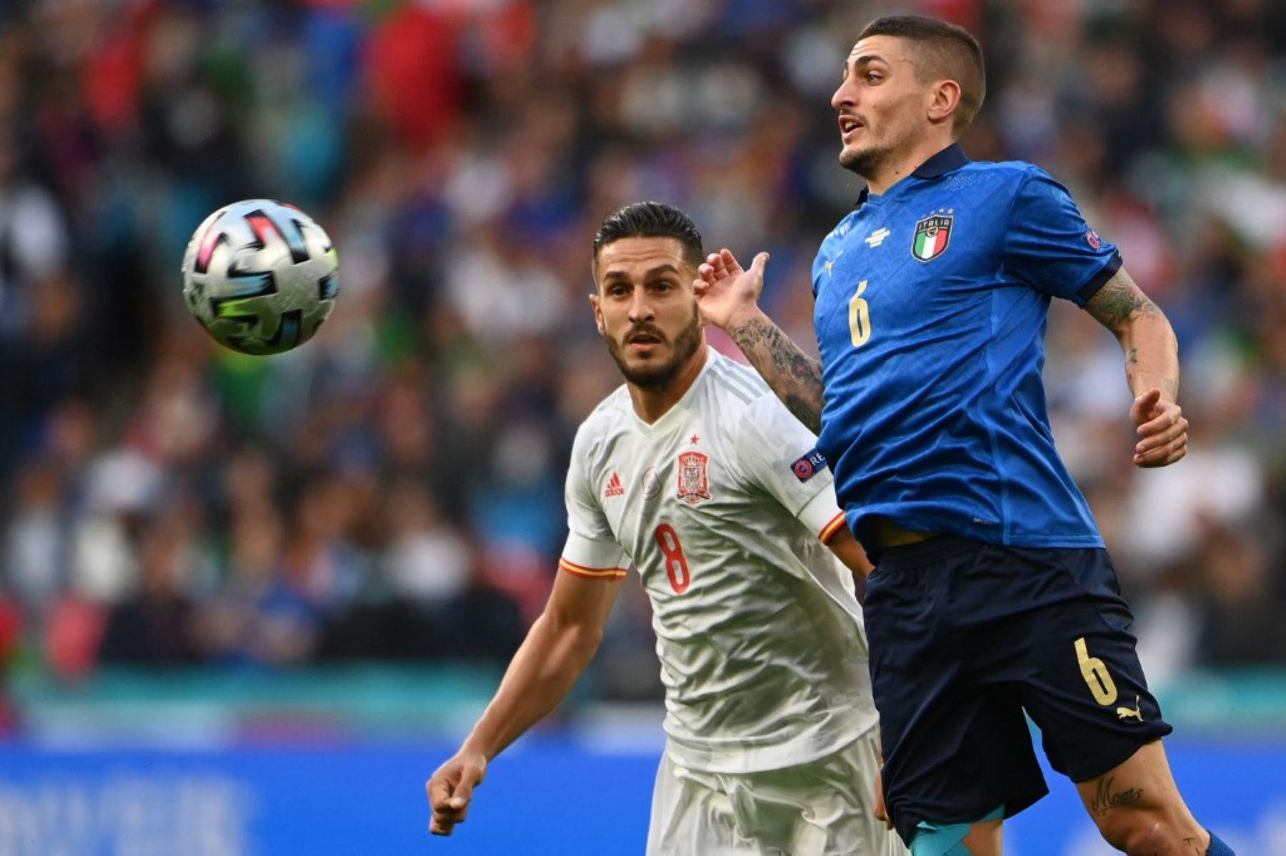 Italia y España juegan hoy por un lugar en la final de la Liga de Naciones
