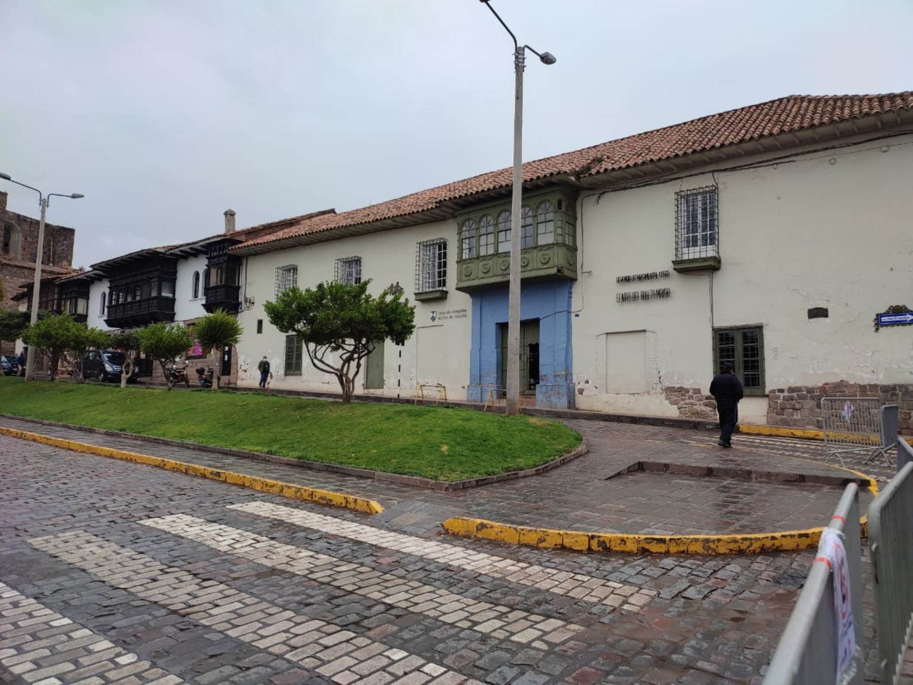Transformers en Cusco: equipo de producción pintará fachadas de monumentos históricos