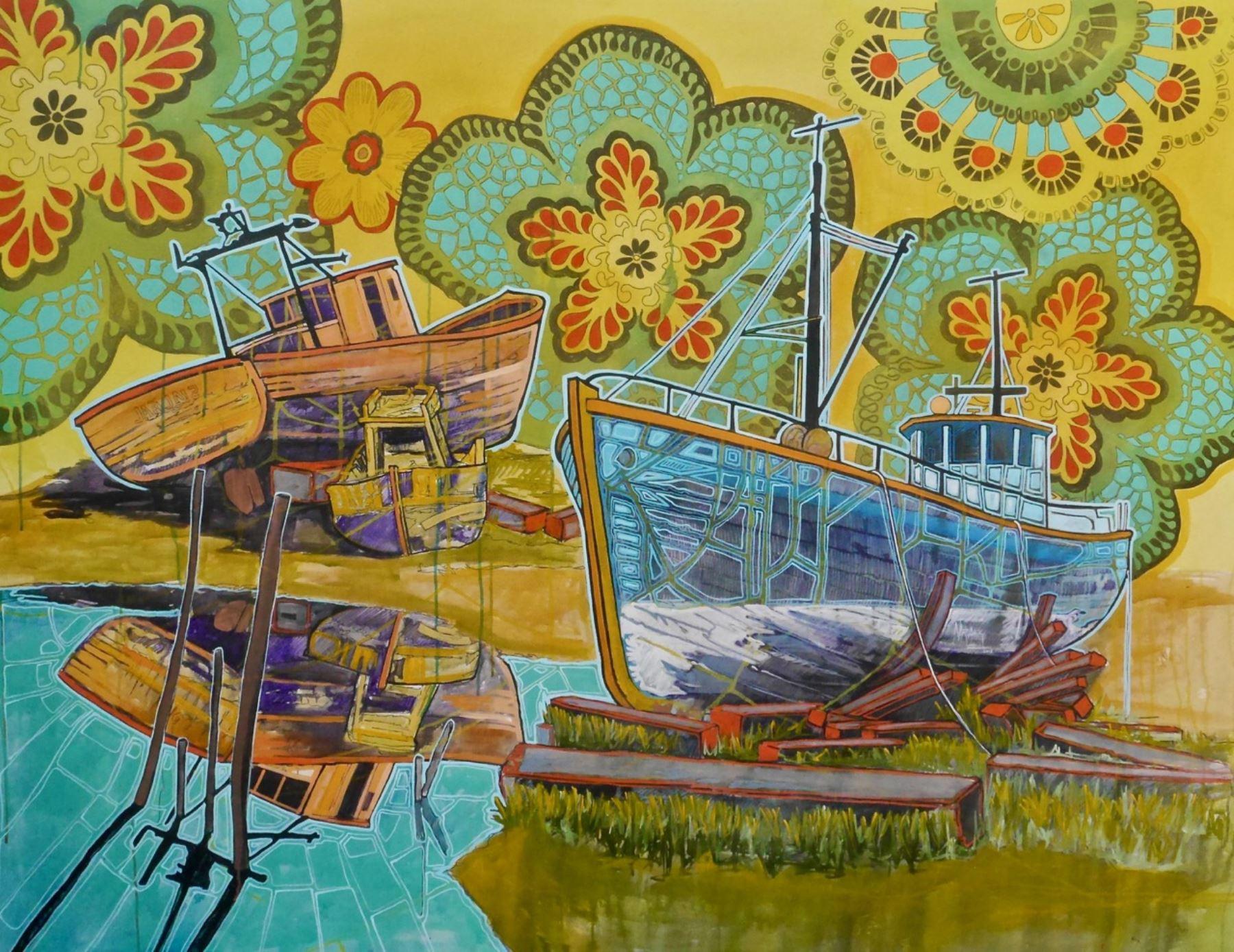 Reflexión y espiritualidad en la exposición del artista Persi Narváez