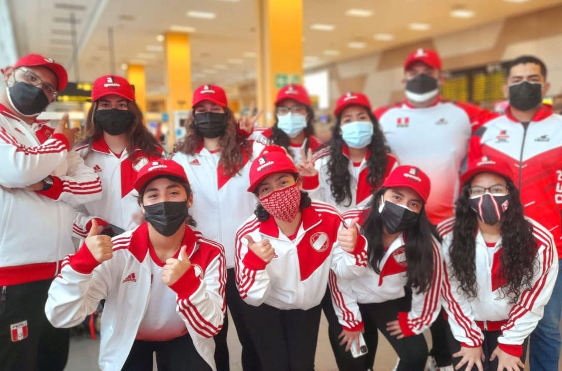Selección peruana de waterpolo rumbo a Israel para disputar el Mundial FINA