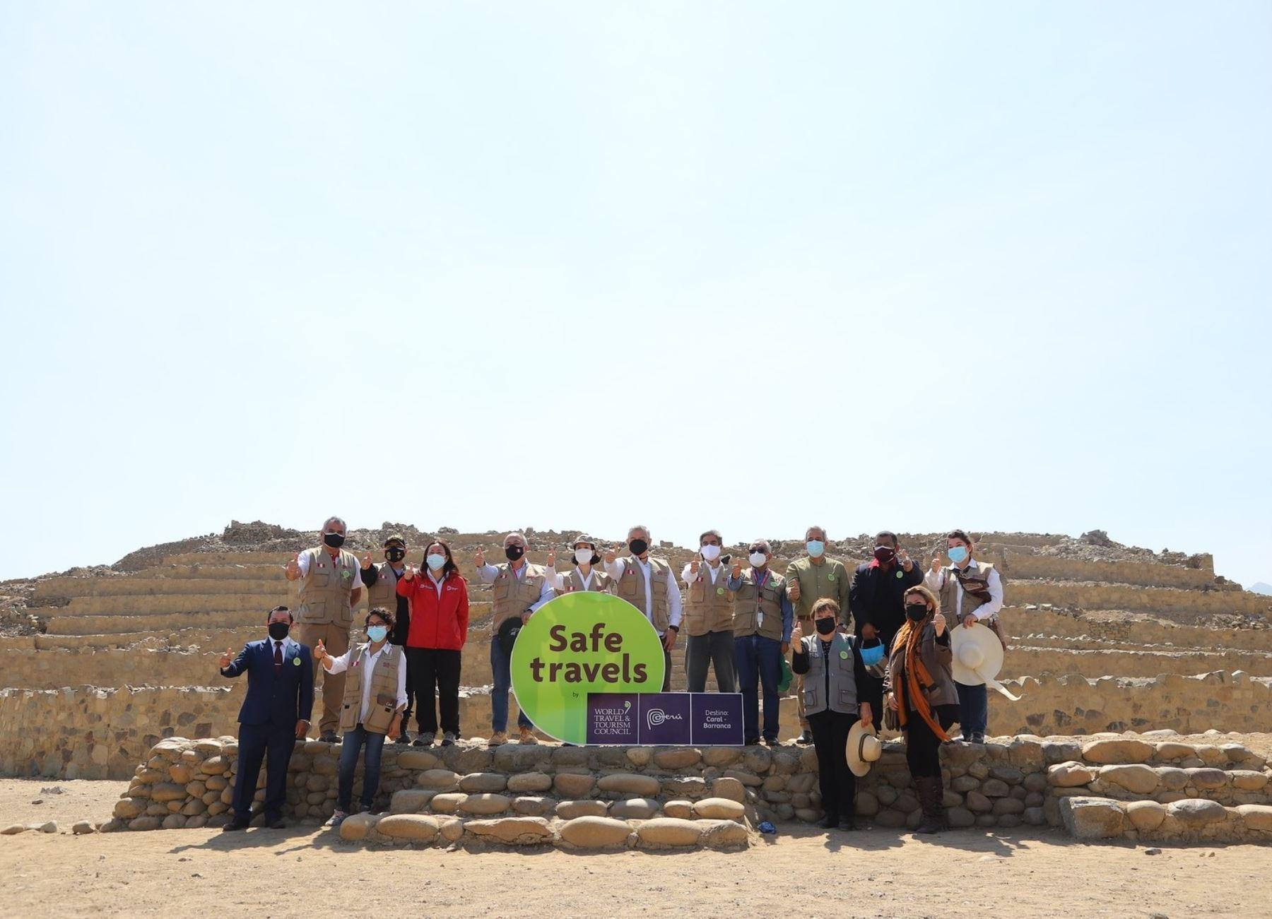 Safe Travel Caral Barranca: fomentan formalización de empresas para un turismo seguro