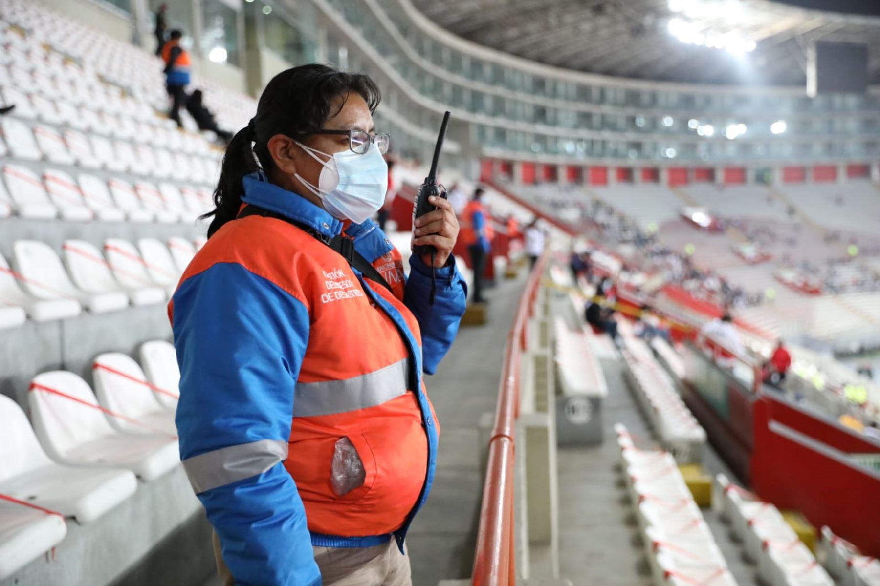 Partido Perú-Chile: municipio de Lima apoyará seguridad en el Estadio Nacional